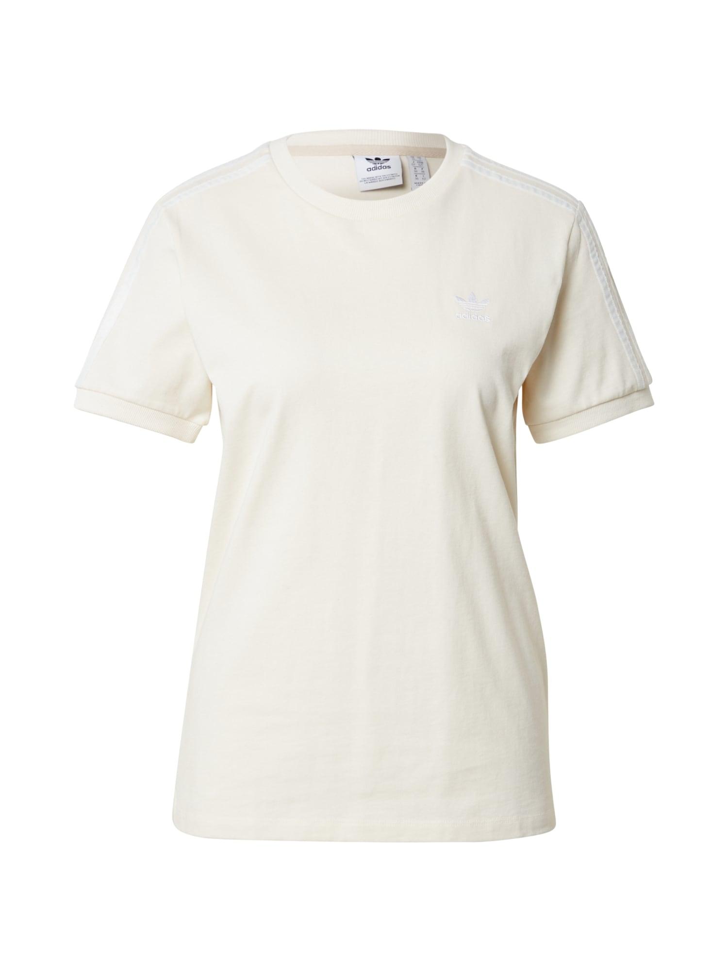ADIDAS ORIGINALS Marškinėliai natūrali balta / balta