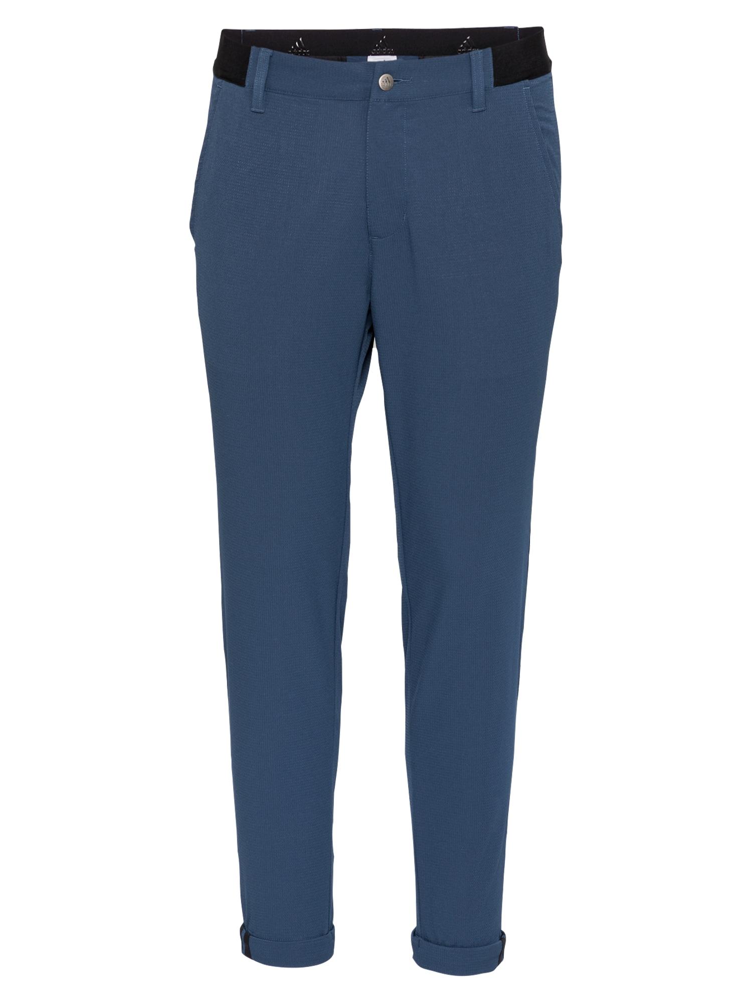 adidas Golf Sportovní kalhoty  modrá