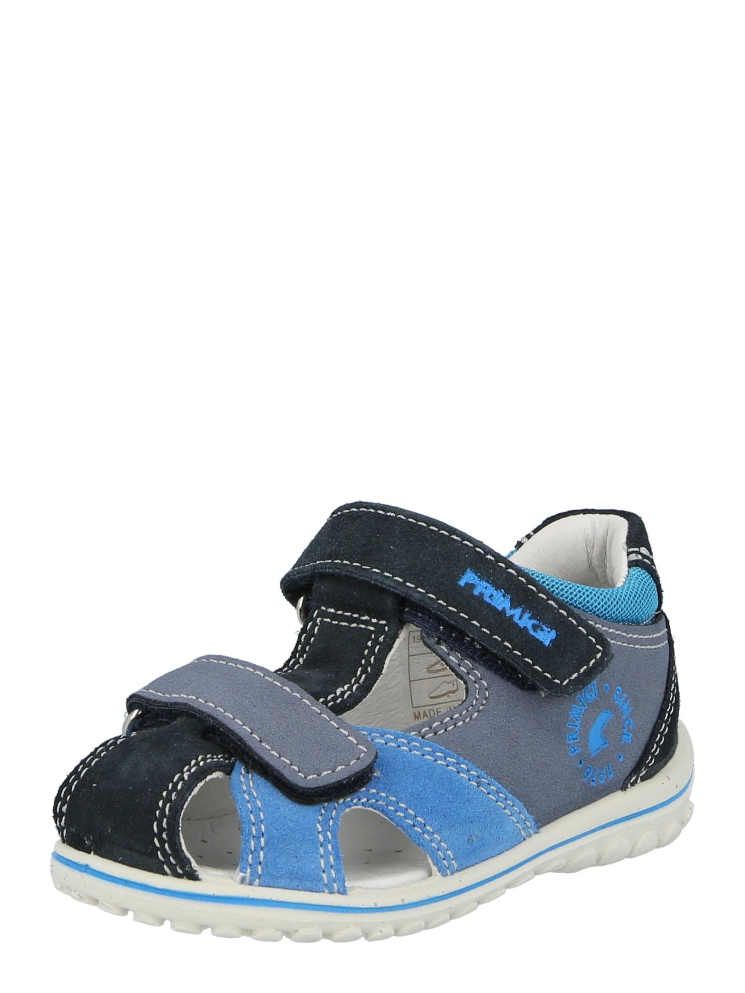 PRIMIGI Atviri batai mėlyna dūmų spalva / nakties mėlyna / dūmų pilka