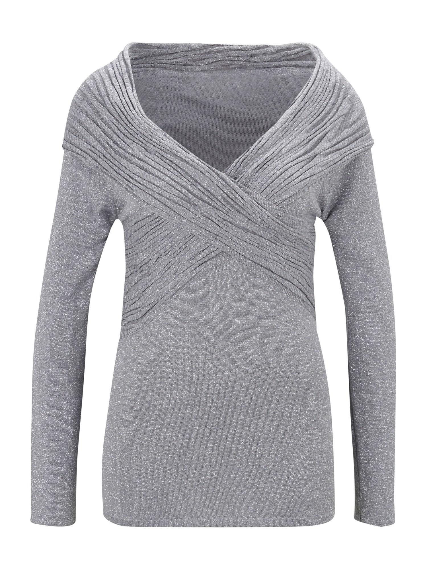 Patrizia Dini by heine Megztinis sidabro pilka