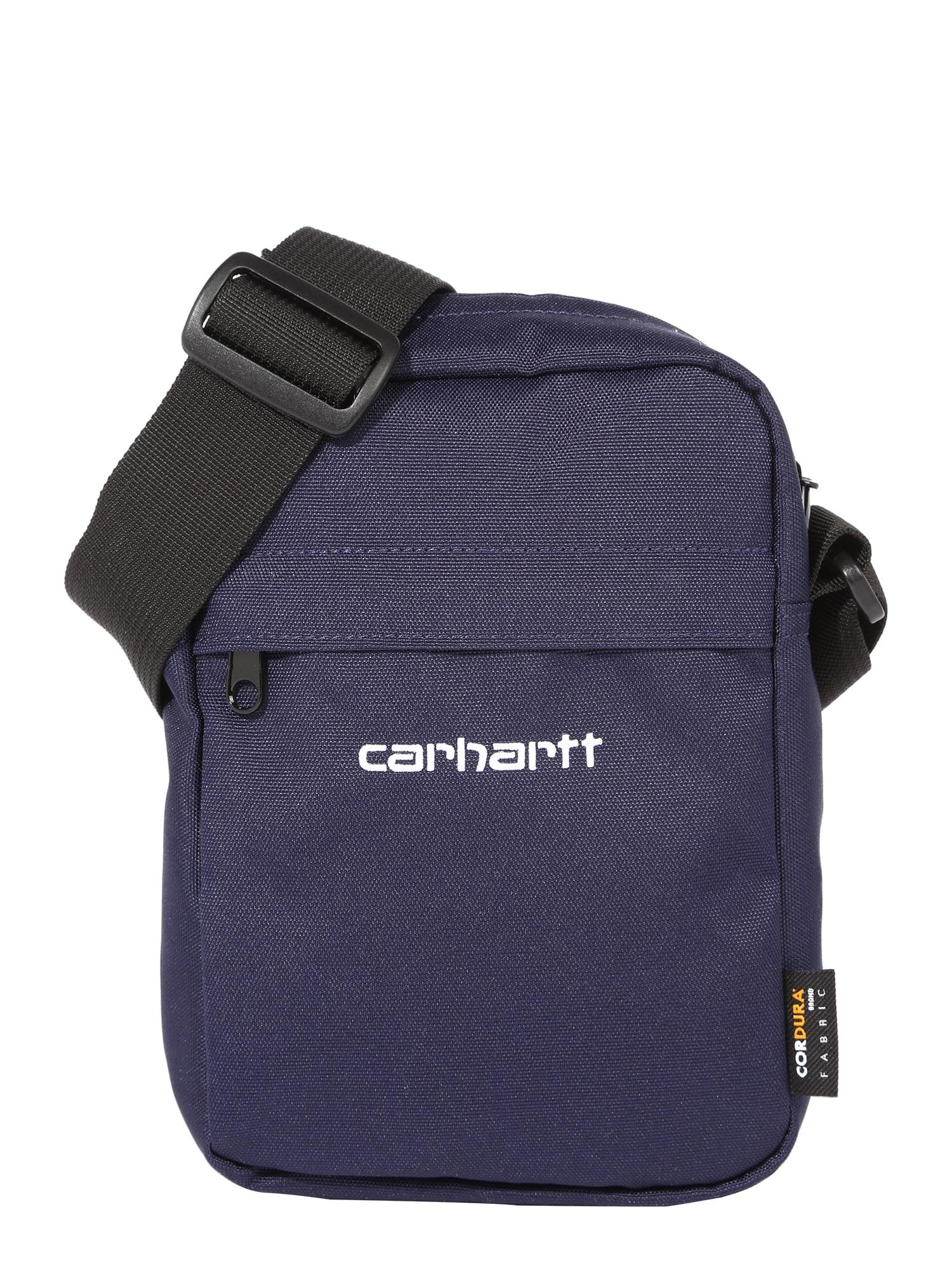 Carhartt WIP Rankinė su ilgu dirželiu balta / tamsiai mėlyna