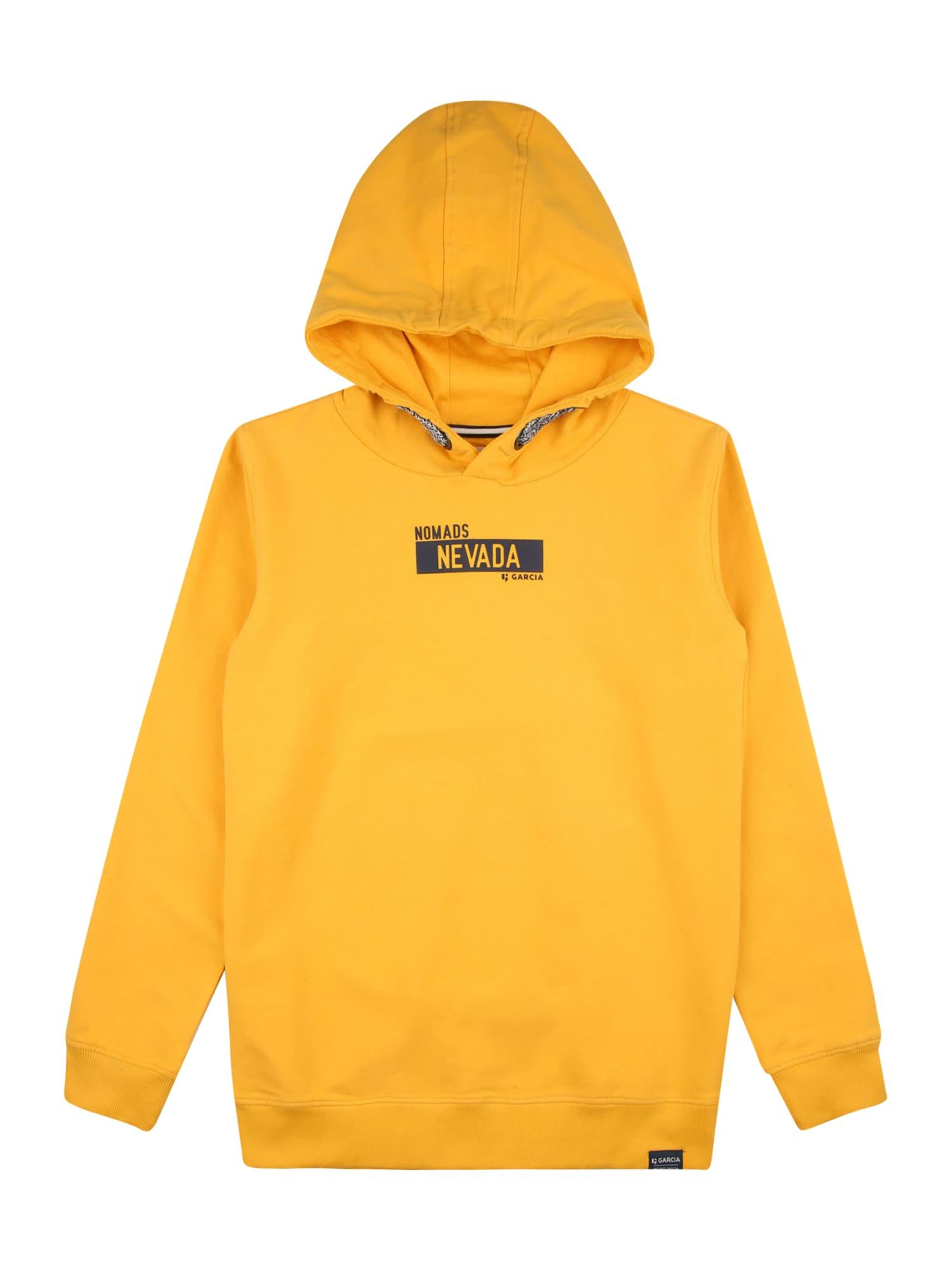 GARCIA Megztinis be užsegimo geltona / juoda