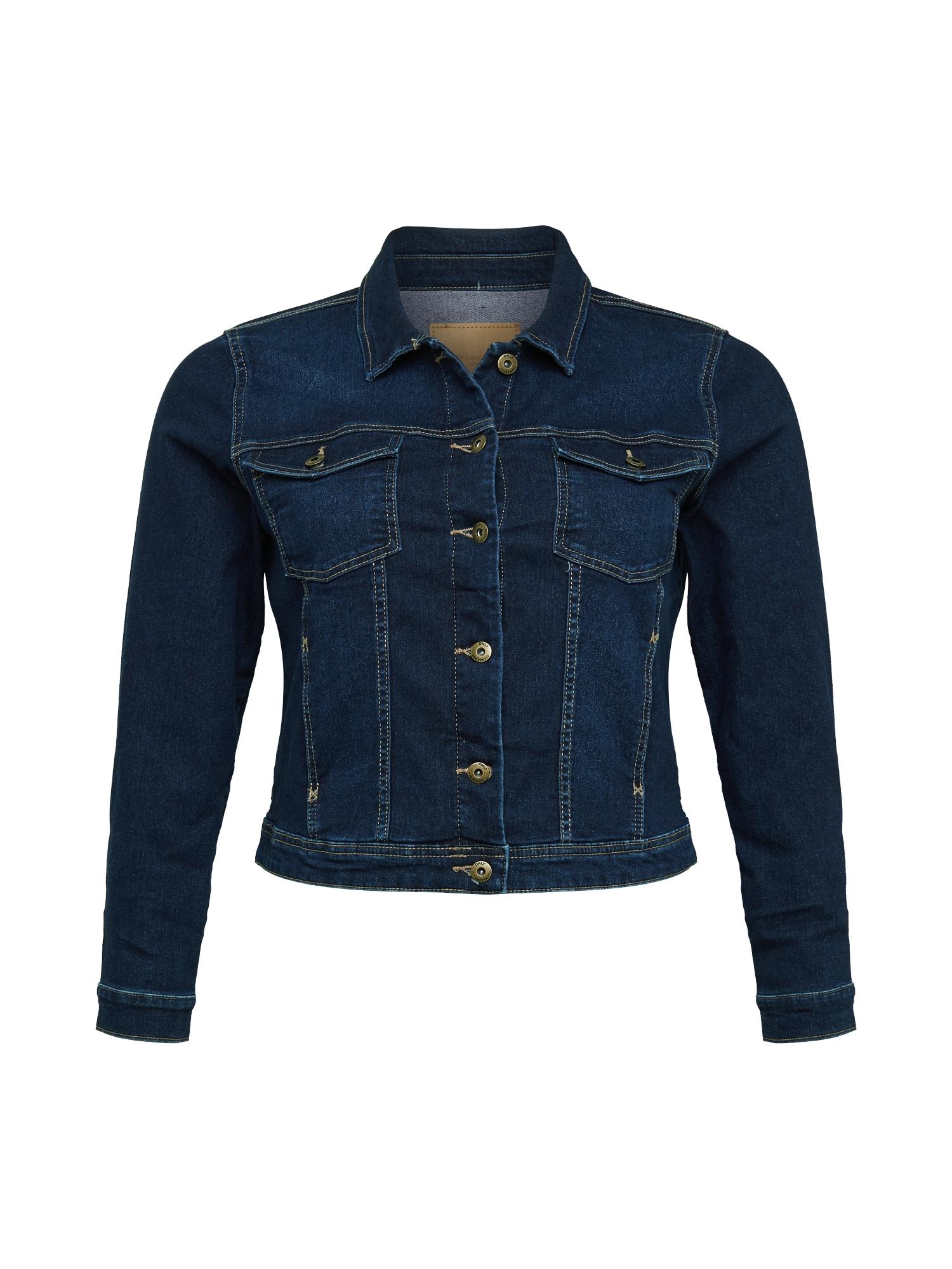 ONLY Carmakoma Demisezoninė striukė tamsiai (džinso) mėlyna