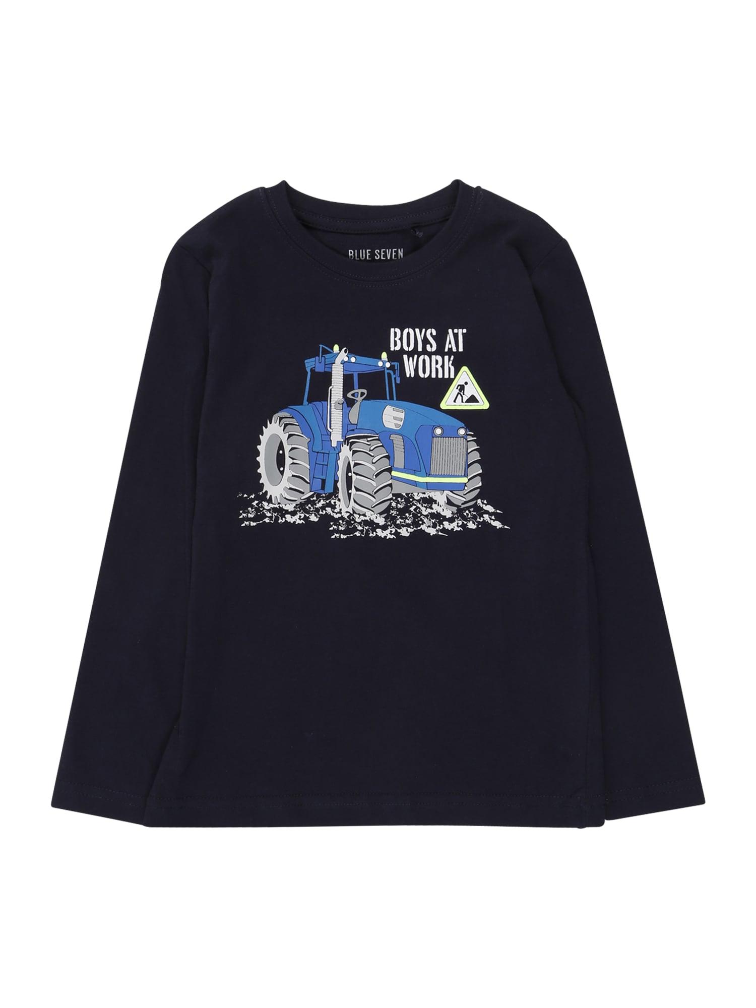 BLUE SEVEN Tričko  námořnická modř / mix barev