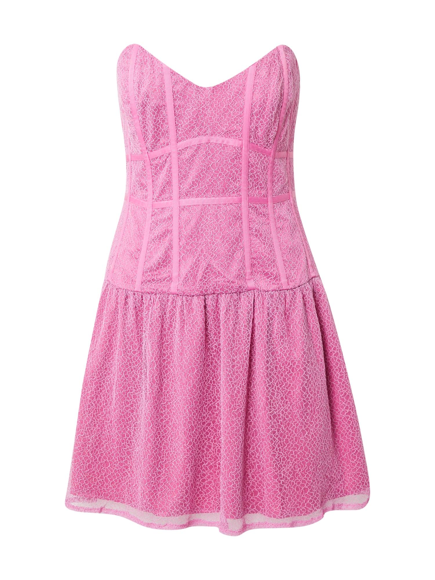 Bardot Kokteilinė suknelė rožinė