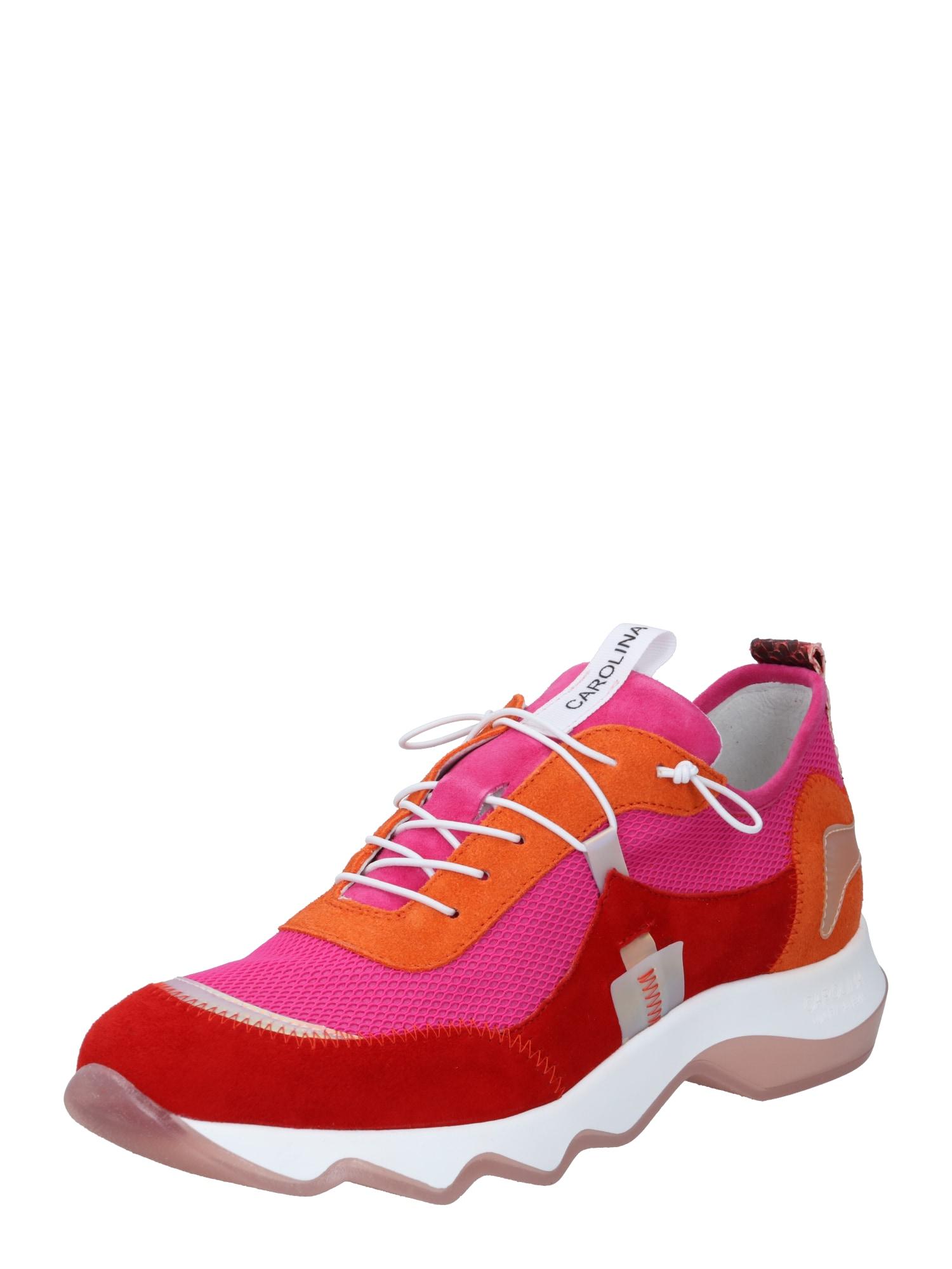 Donna Carolina Sportbačiai be auliuko rožinė / neoninė oranžinė / raudona