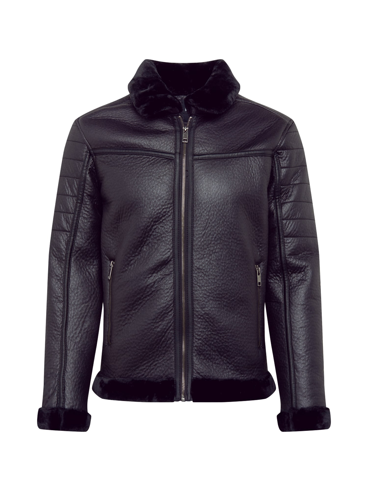 BRAVE SOUL Prechodná bunda  čierna