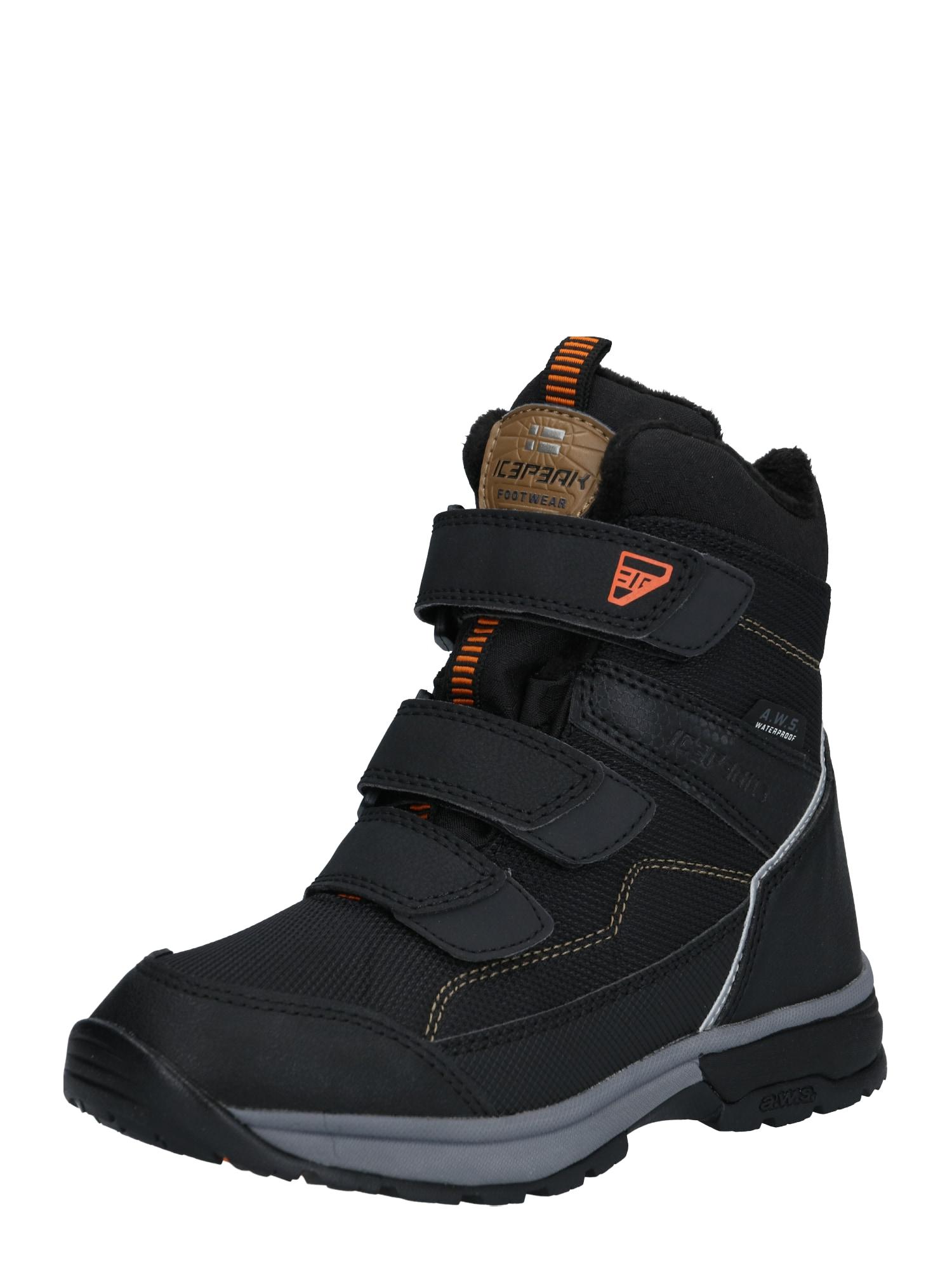 ICEPEAK Auliniai batai 'ALGA' juoda
