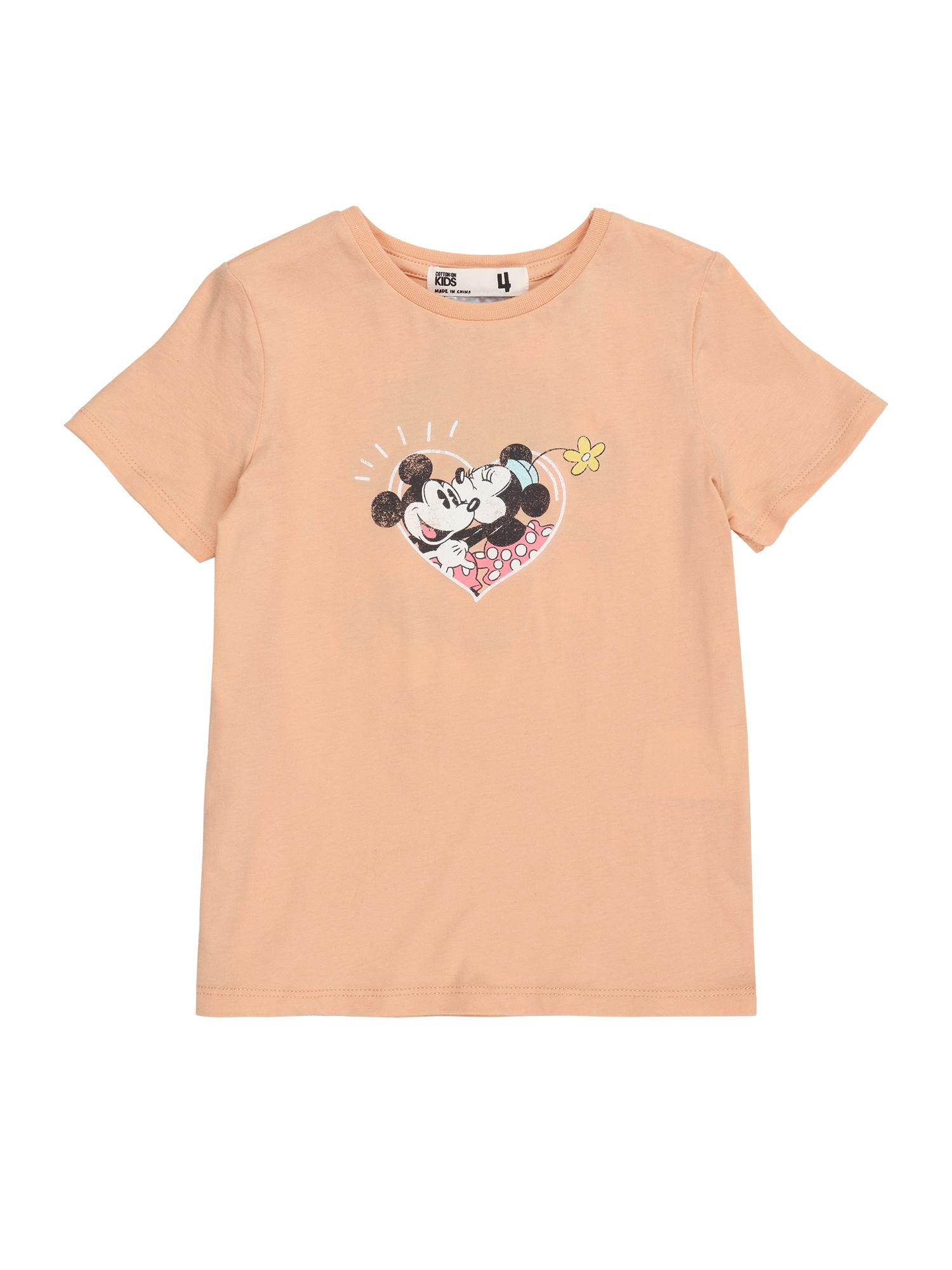 Cotton On Marškinėliai 'DISNEY' mišrios spalvos / lašišų spalva