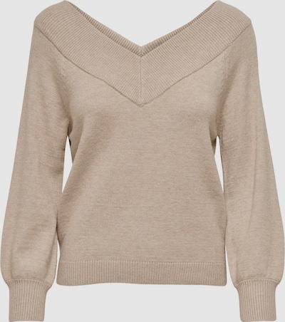 Jdy Sharon Long Sleeve Off The Shoulder Knitted Pullover Jumper