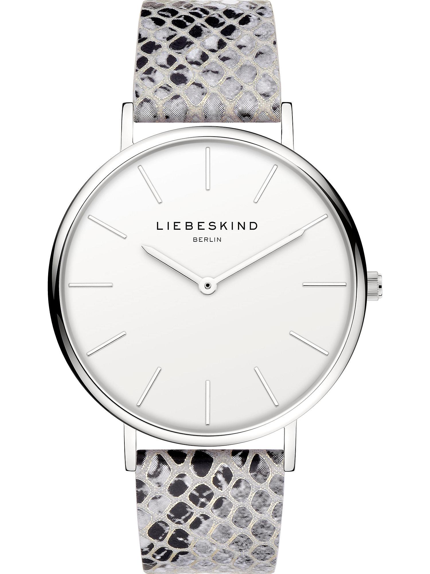 Liebeskind Berlin Analoginis (įprasto dizaino) laikrodis sidabrinė / pilka