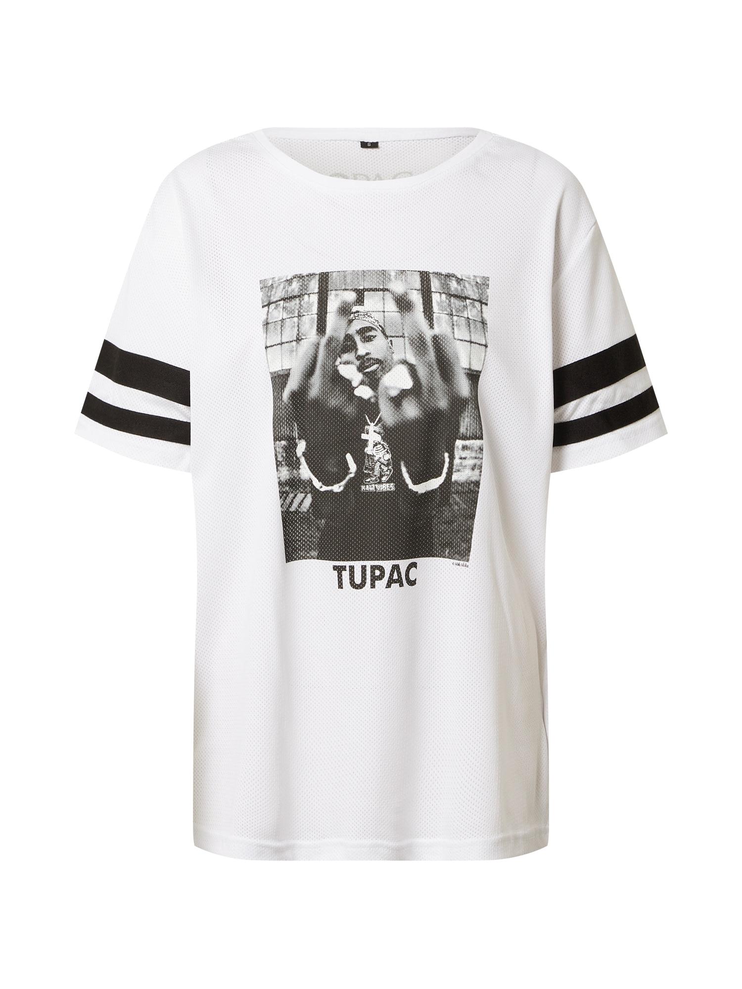 Merchcode Marškinėliai juoda / balta