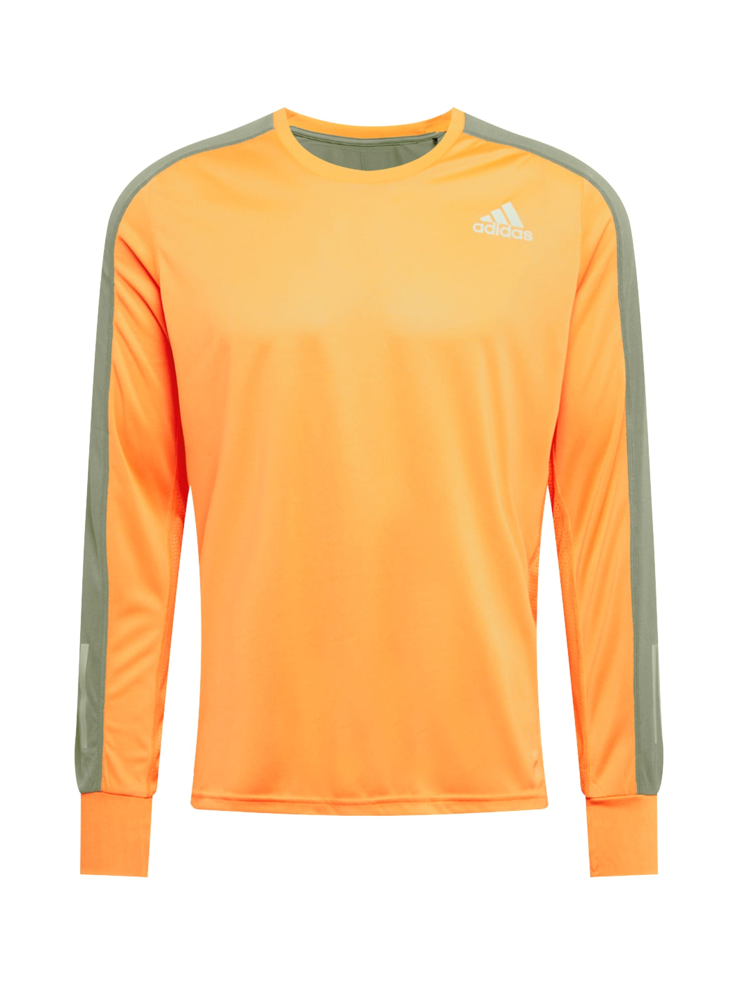 ADIDAS PERFORMANCE Funkční tričko  oranžová / šedá / bílá