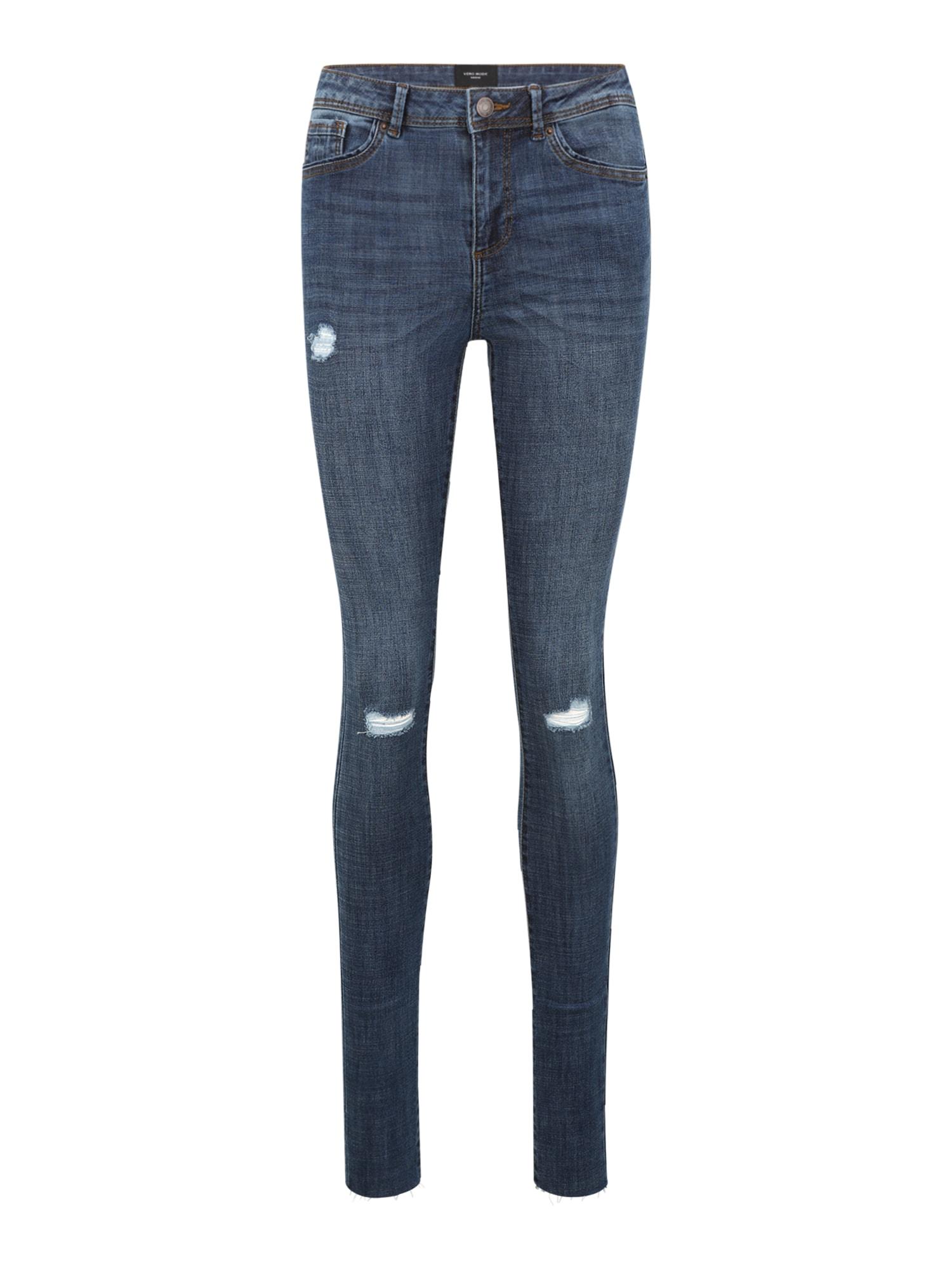 Vero Moda Tall Džinsai tamsiai (džinso) mėlyna