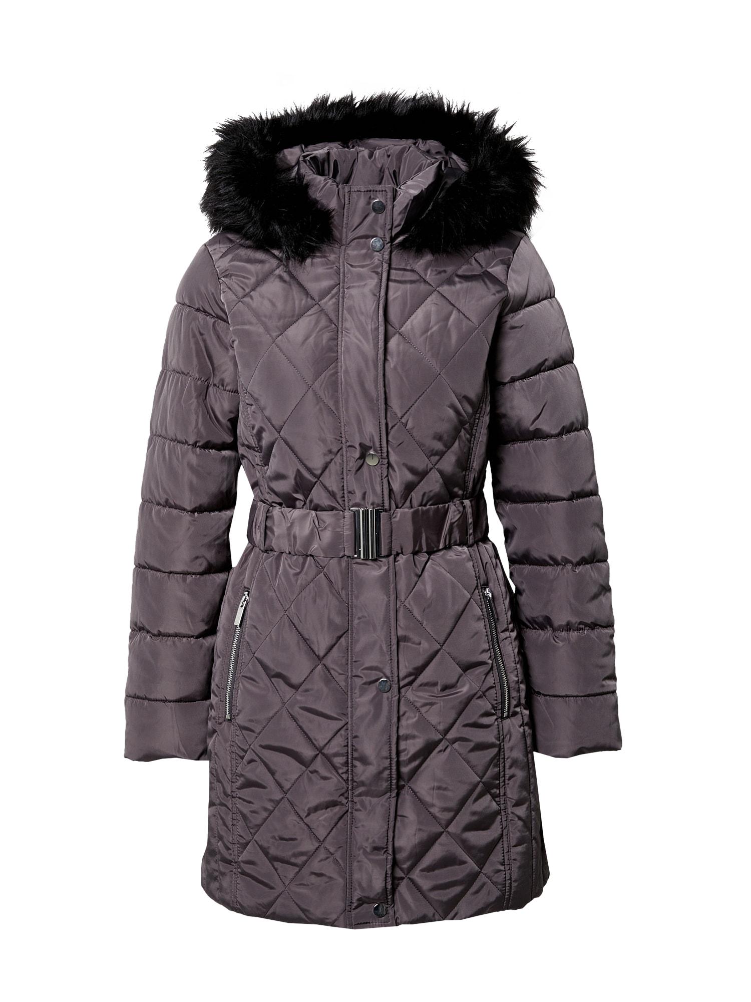 Dorothy Perkins Žieminis paltas tamsiai pilka