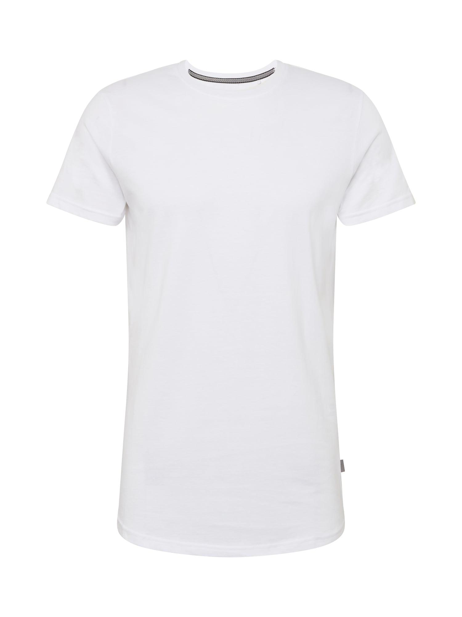 !Solid Marškinėliai balta