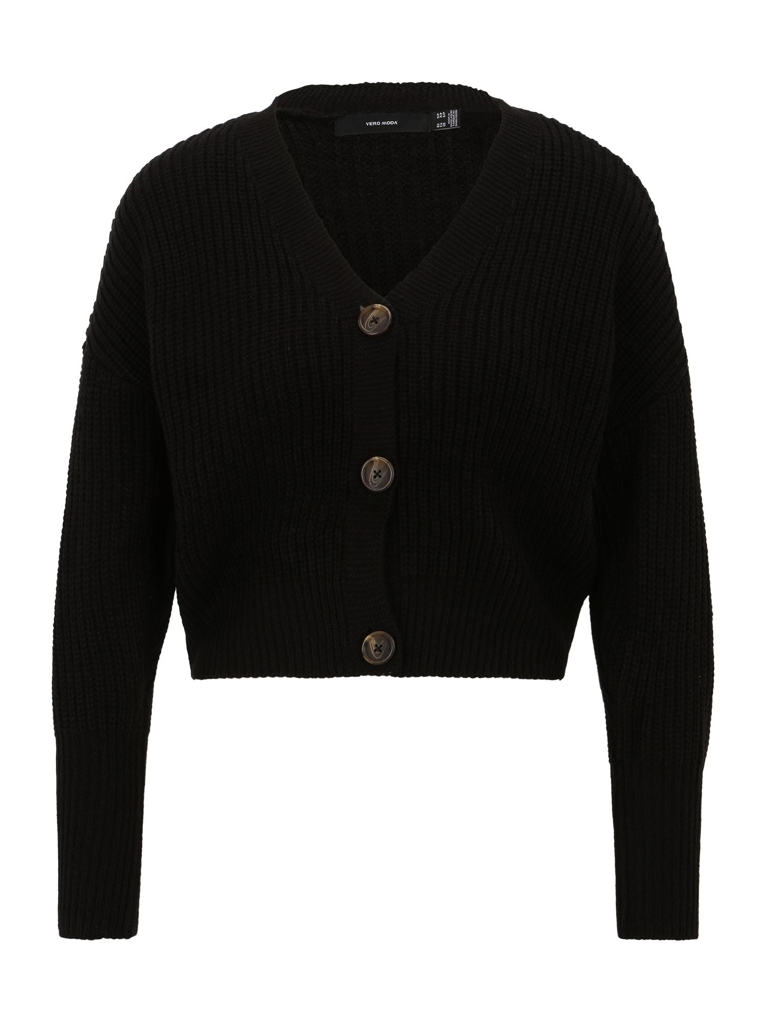 Vero Moda Petite Kardigan 'LEA'  černá