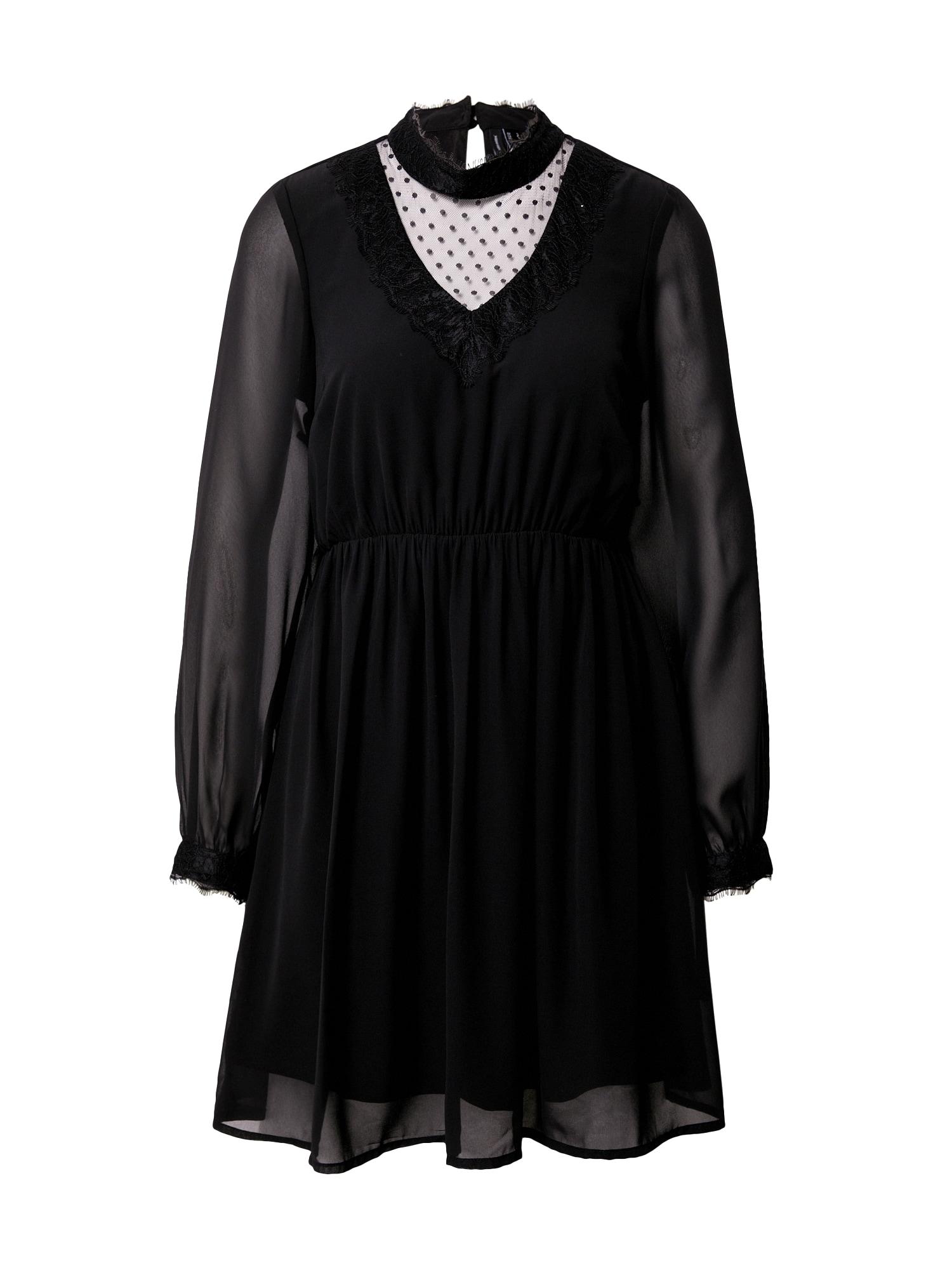 VERO MODA Koktejlové šaty 'BELLA'  černá