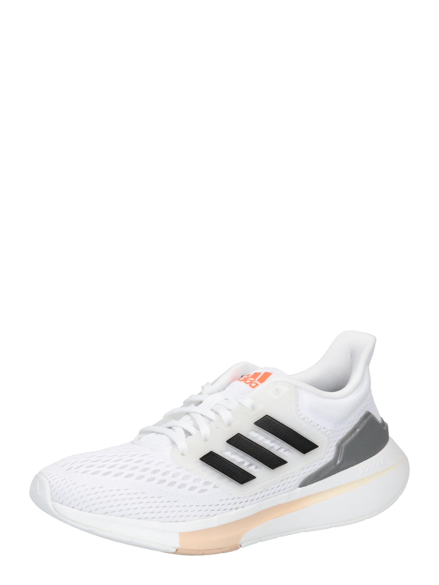 ADIDAS PERFORMANCE Bėgimo batai balta / tamsiai pilka / juoda / oranžinė