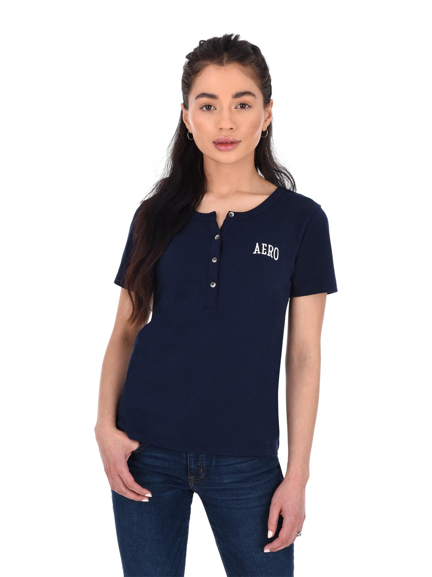 AÈROPOSTALE Marškinėliai tamsiai mėlyna