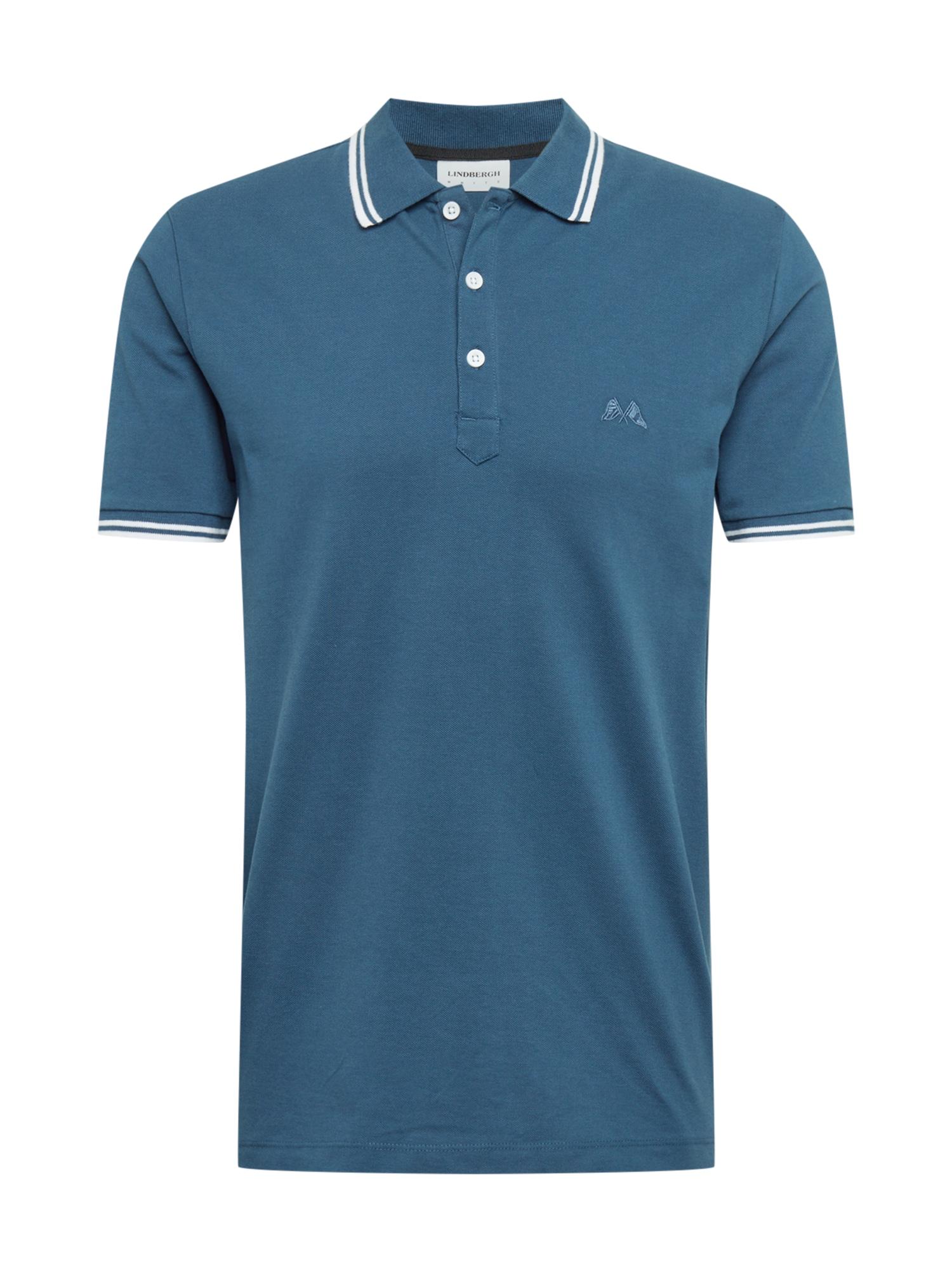 Lindbergh Marškinėliai pastelinė mėlyna / balta