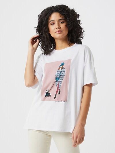 Noisy May Ida T-Shirt mit kurzen Ärmeln und Frontprint