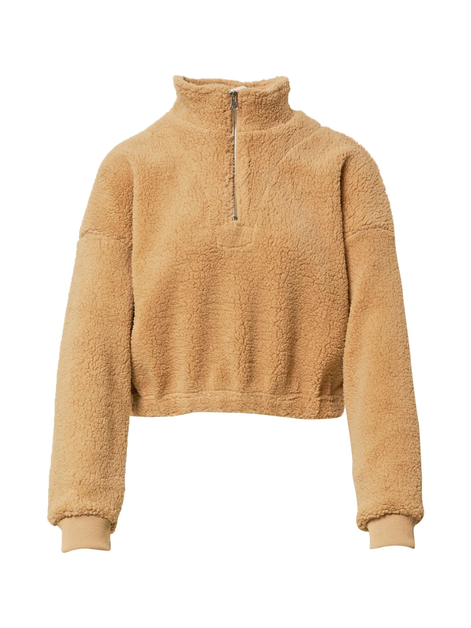 Cotton On Megztinis be užsegimo šviesiai ruda