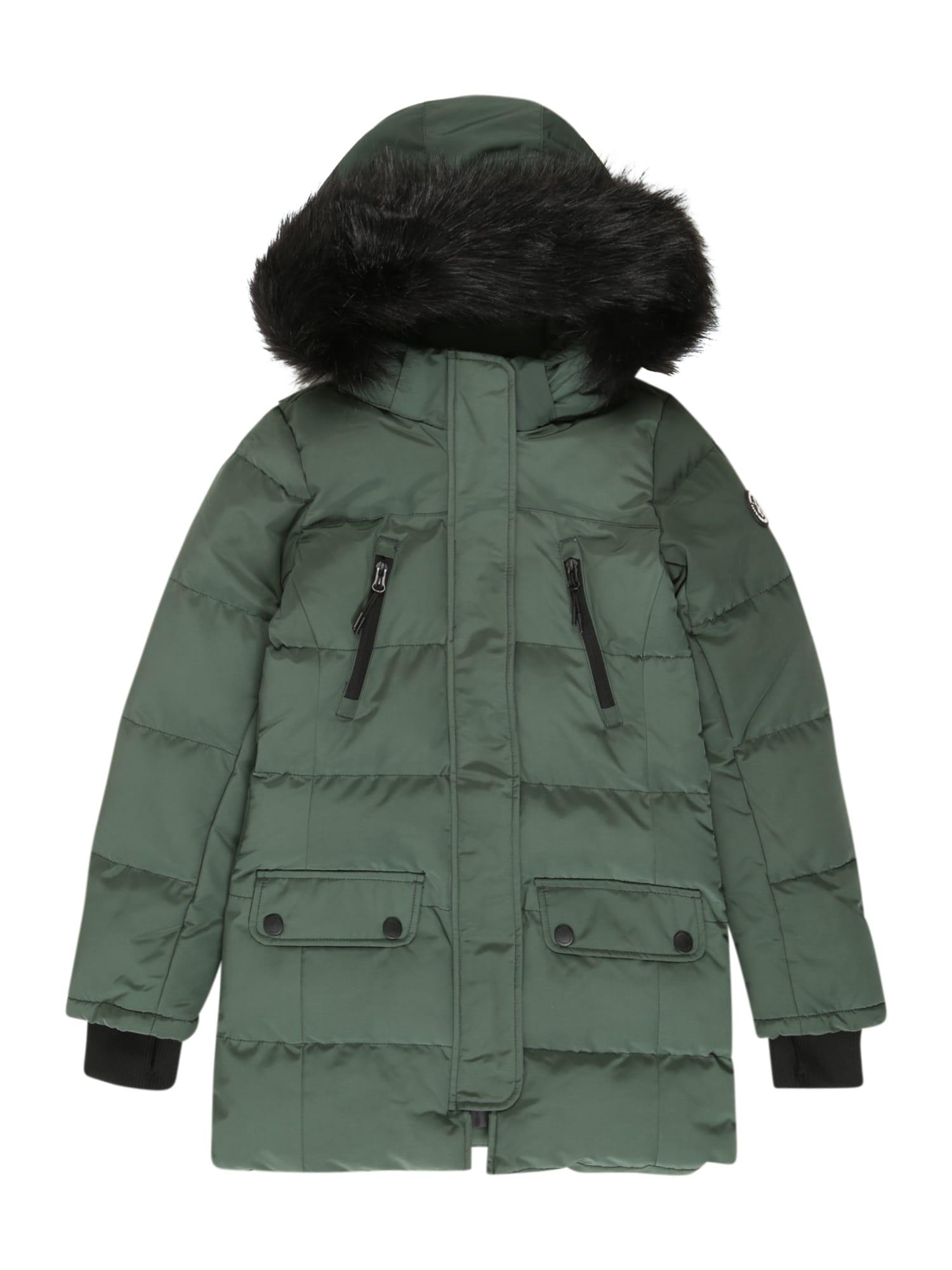 Cars Jeans Žieminė striukė 'FELISA' pastelinė žalia