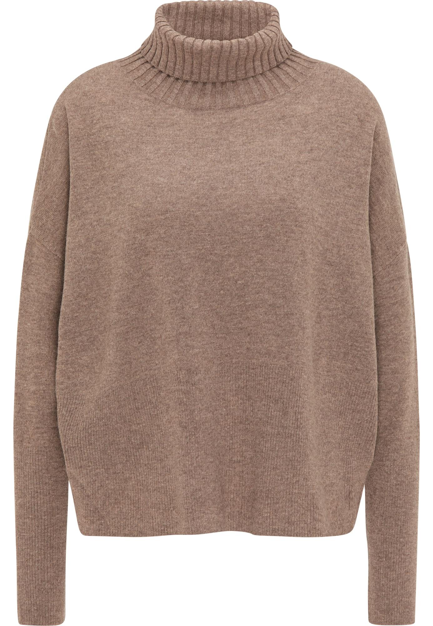 usha BLACK LABEL Laisvas megztinis šviesiai ruda