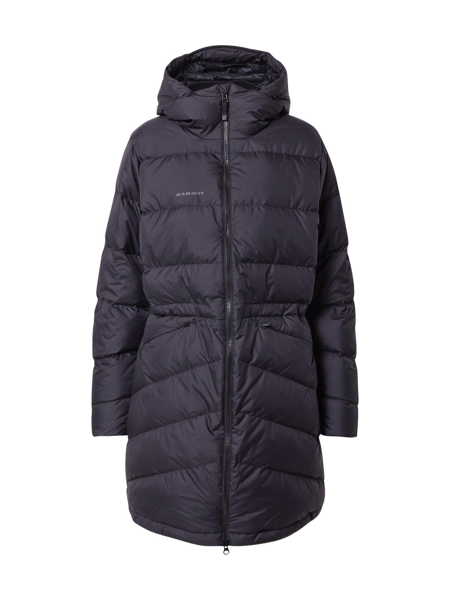 MAMMUT Outdoorový kabát 'Fedoz'  černá