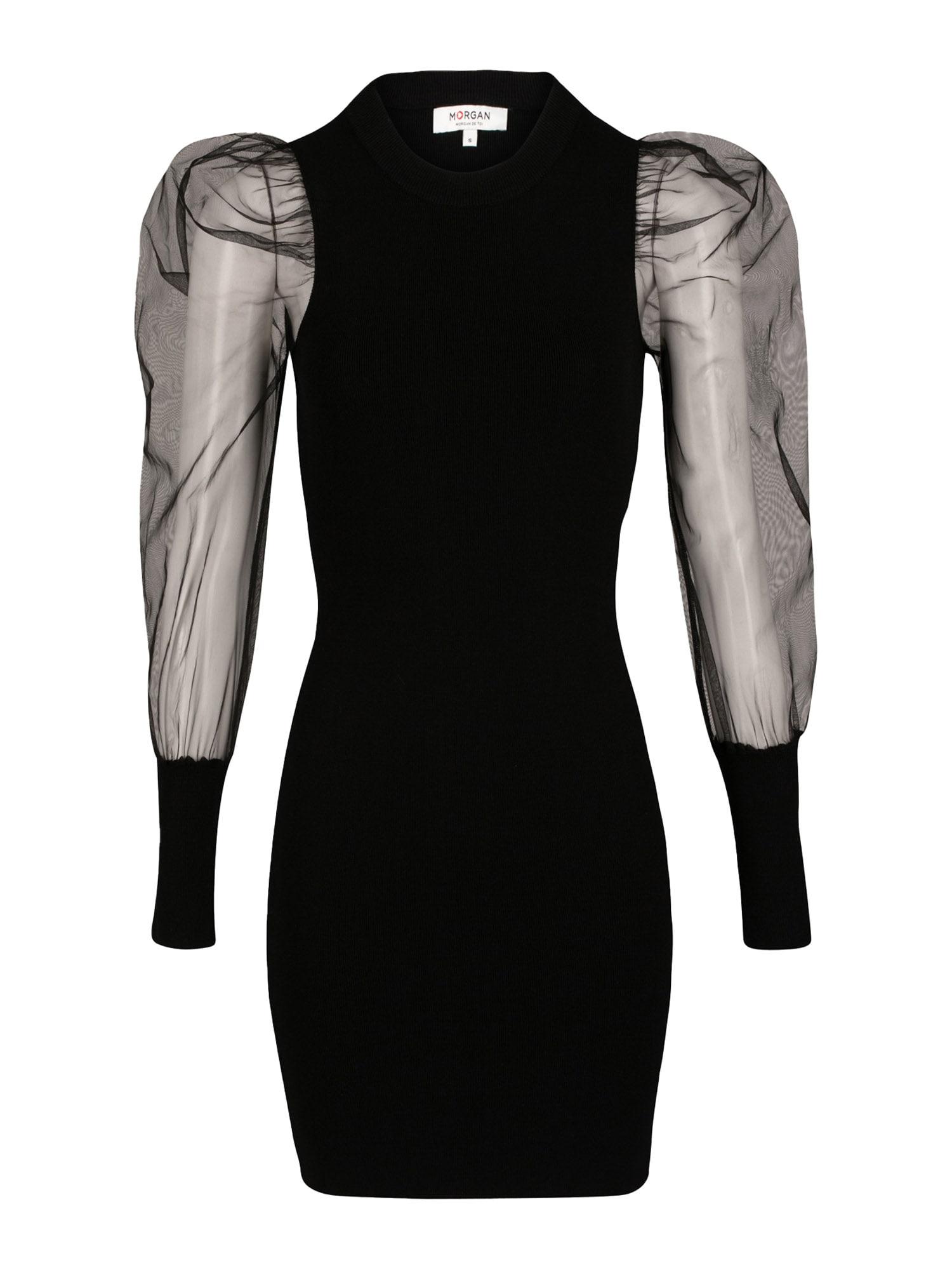 Morgan Kokteilinė suknelė juoda