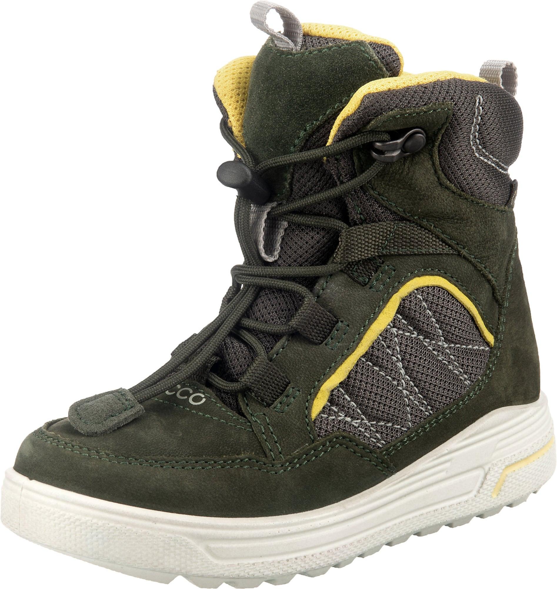 ECCO Sniego batai žalia / geltona
