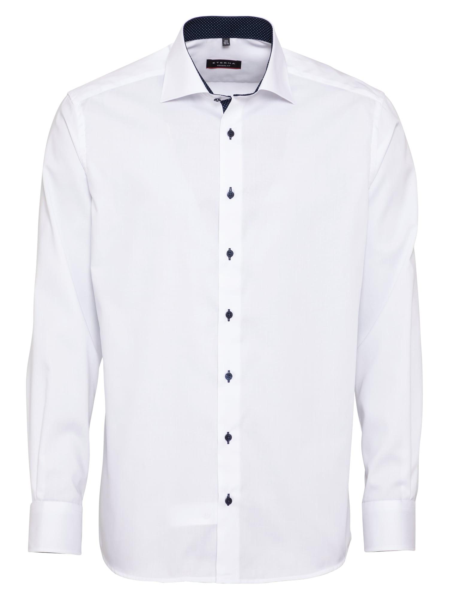 ETERNA Dalykinio stiliaus marškiniai balta