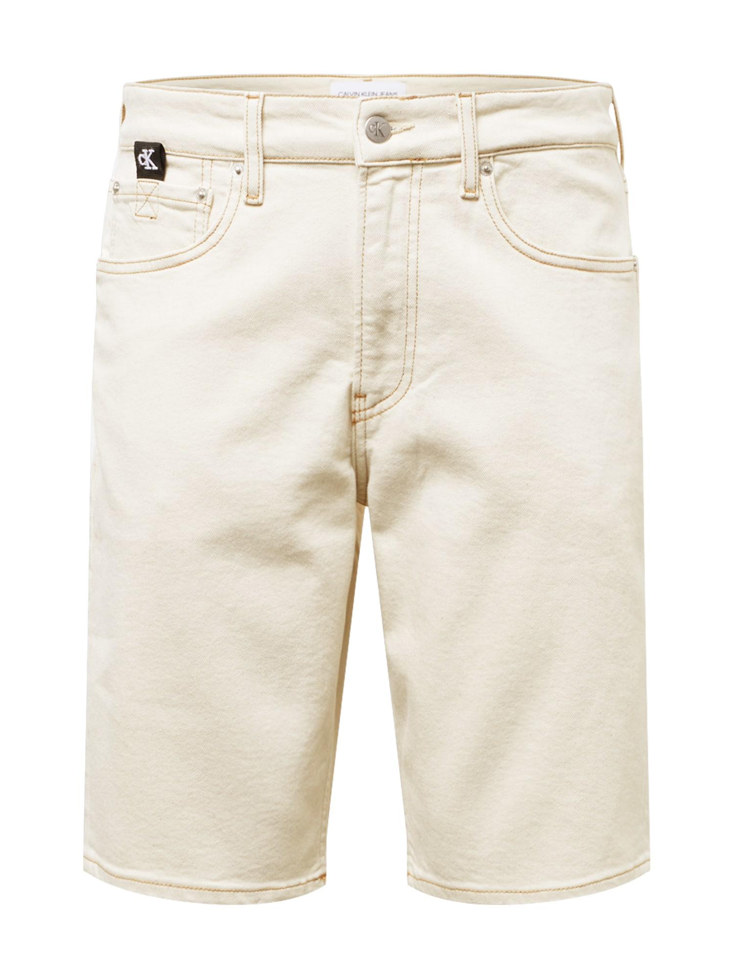 Calvin Klein Jeans Džinsai kremo