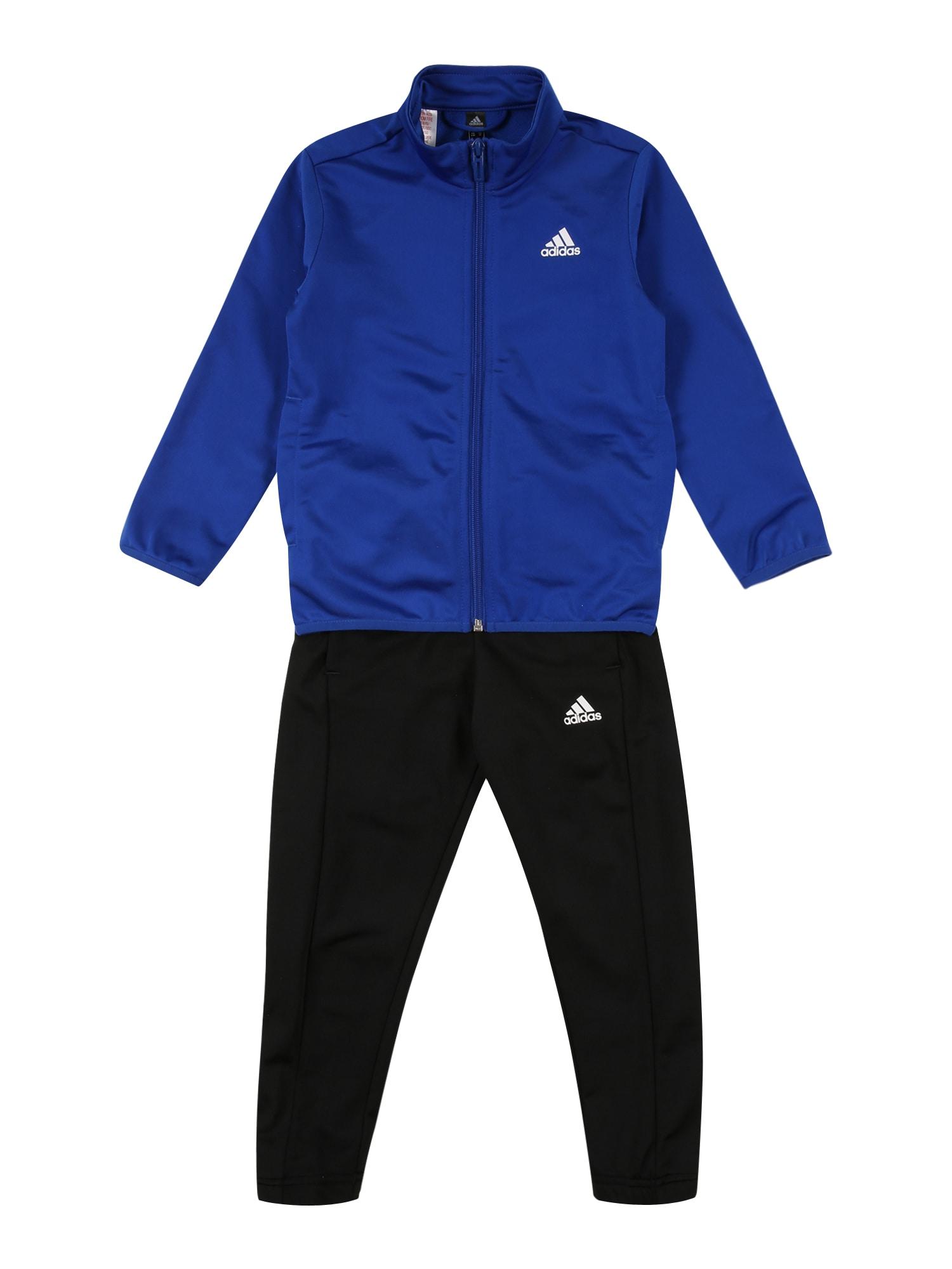 ADIDAS PERFORMANCE Sportinis kostiumas mėlyna / balta