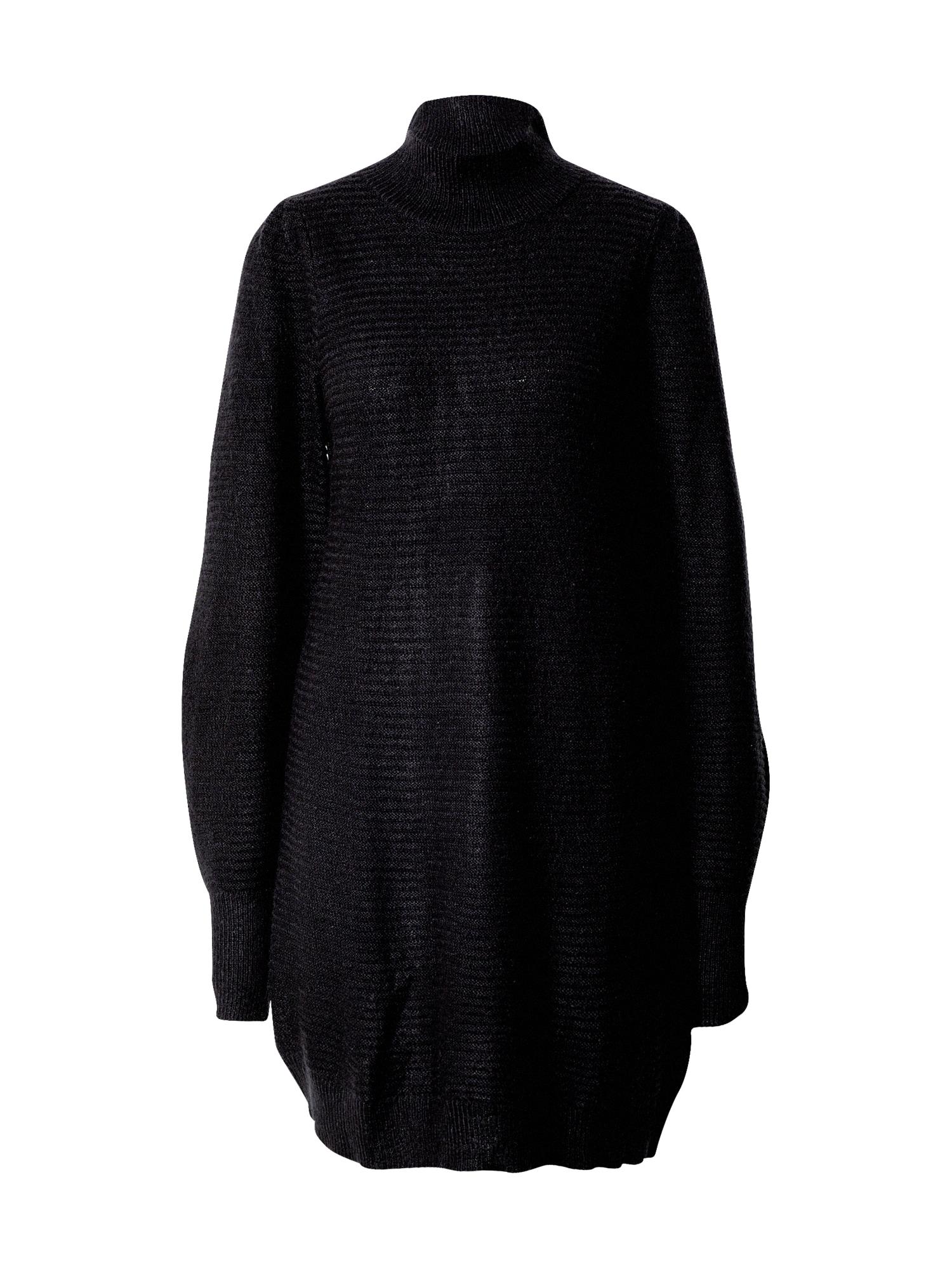 Funky Buddha Megzta suknelė juoda