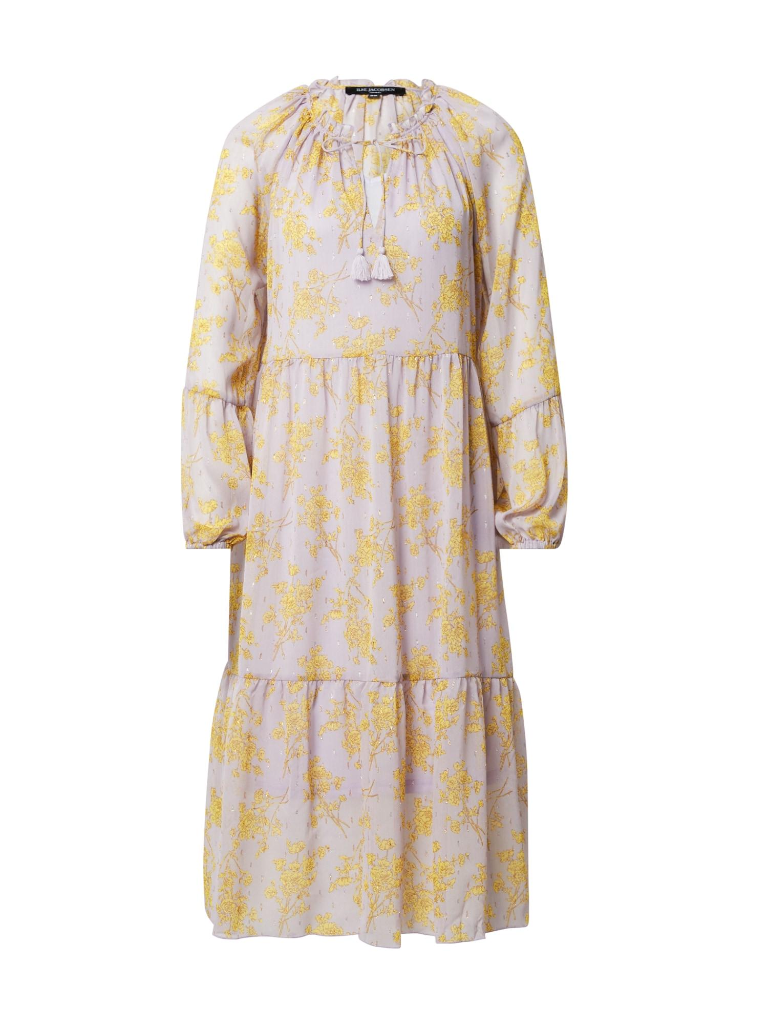 ILSE JACOBSEN Suknelė rožių spalva / geltona