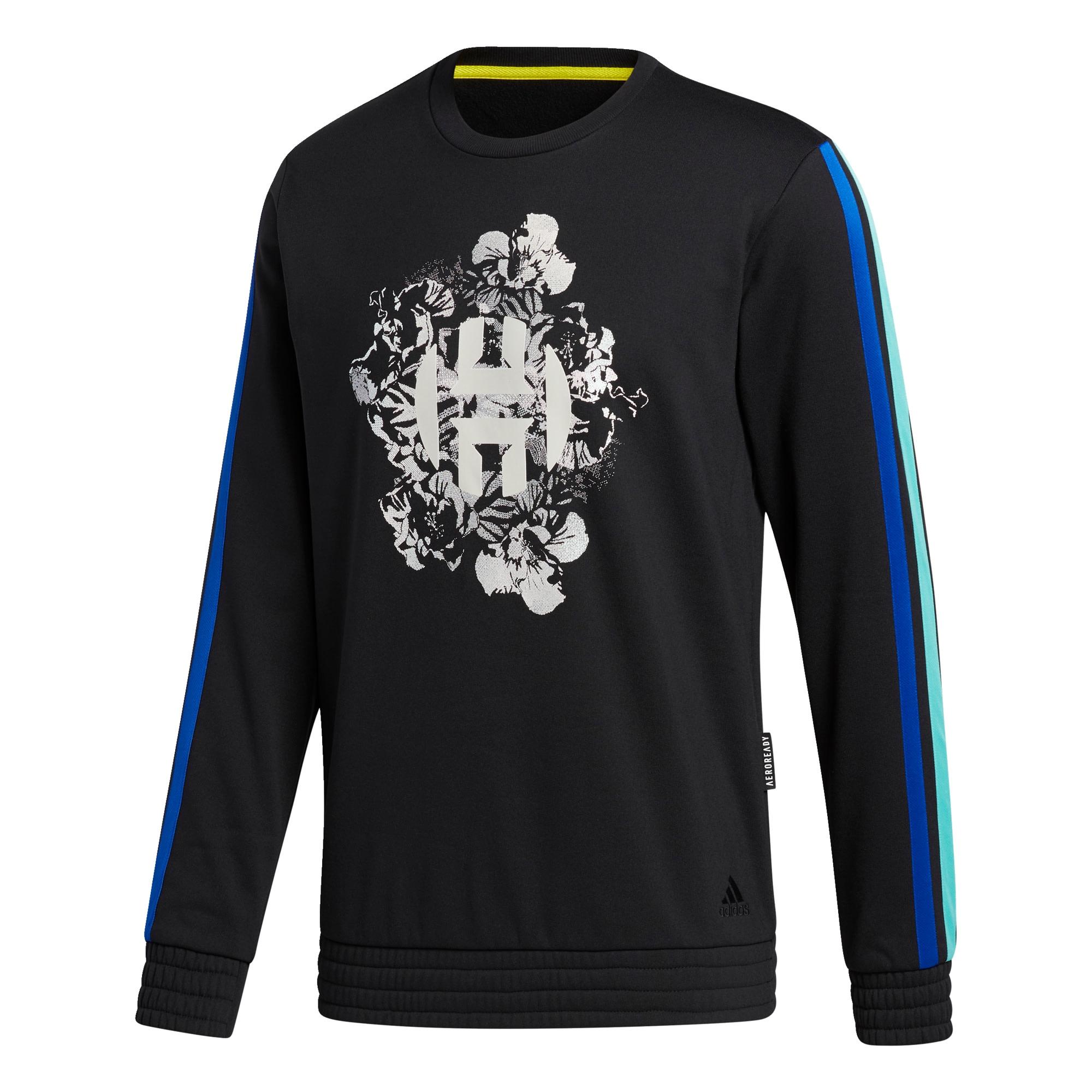 ADIDAS PERFORMANCE Sportovní mikina  černá / modrá / oranžová / bílá