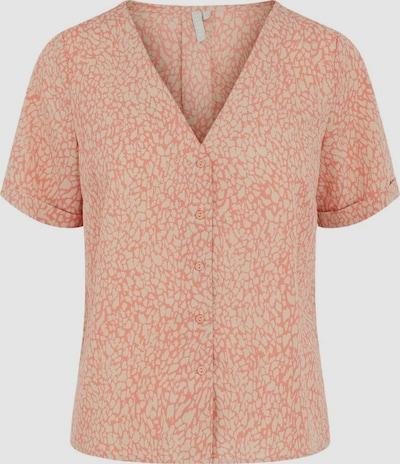 Pieces Gilberta Kurzarm Button-Down-Bluse,  bedruckt