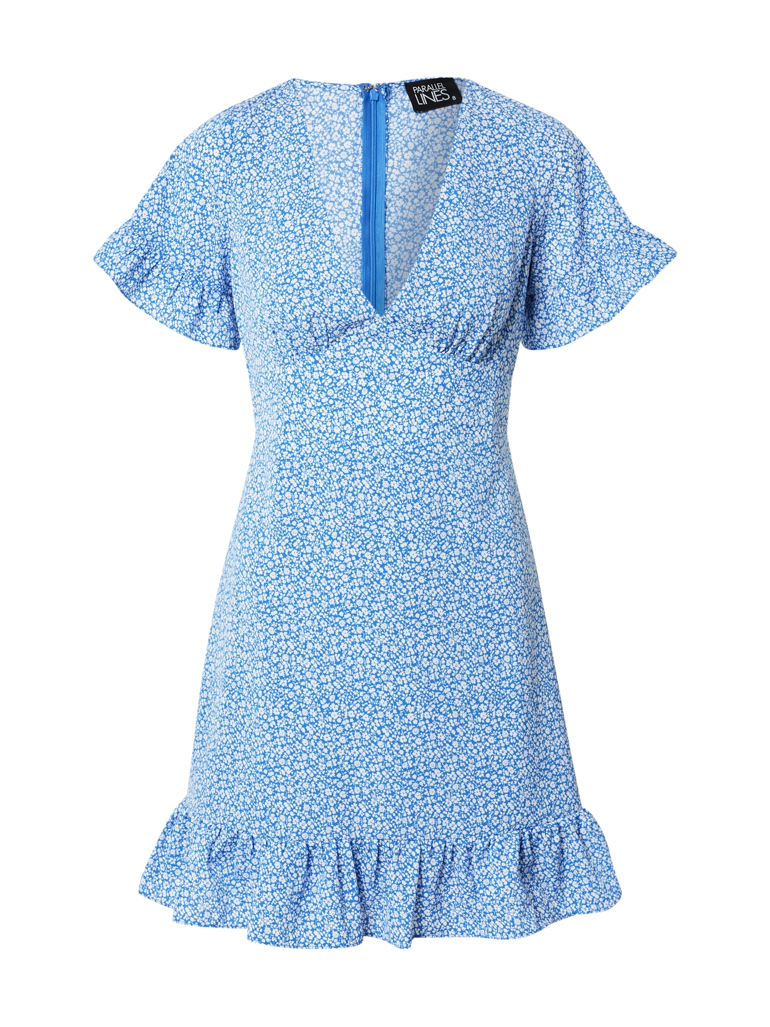 Parallel Lines Suknelė mėlyna / balta