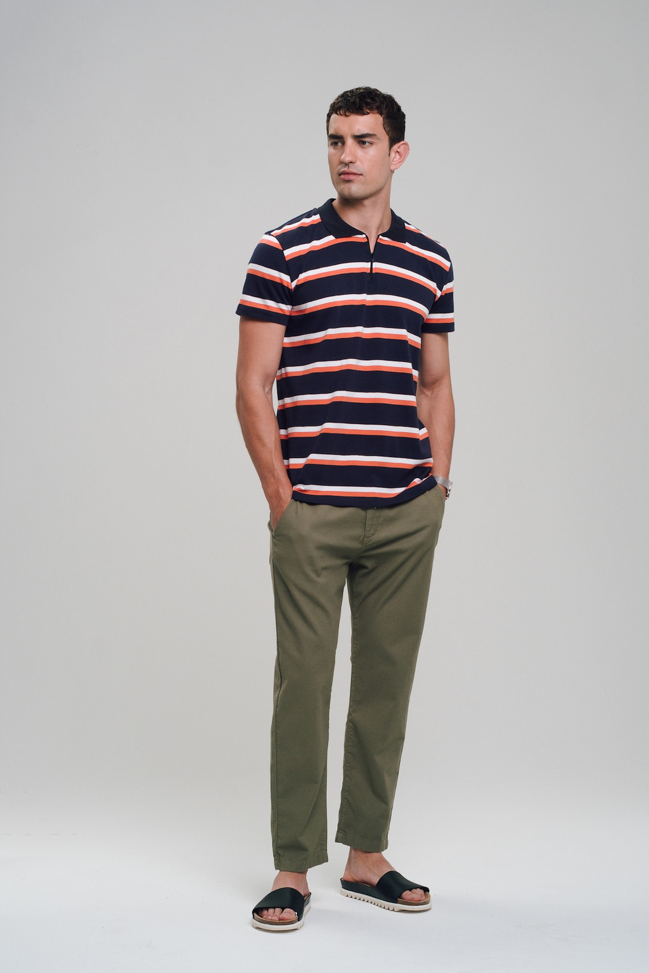 recolution - Poloshirt 'Heavy' Polo Shirt ZIP