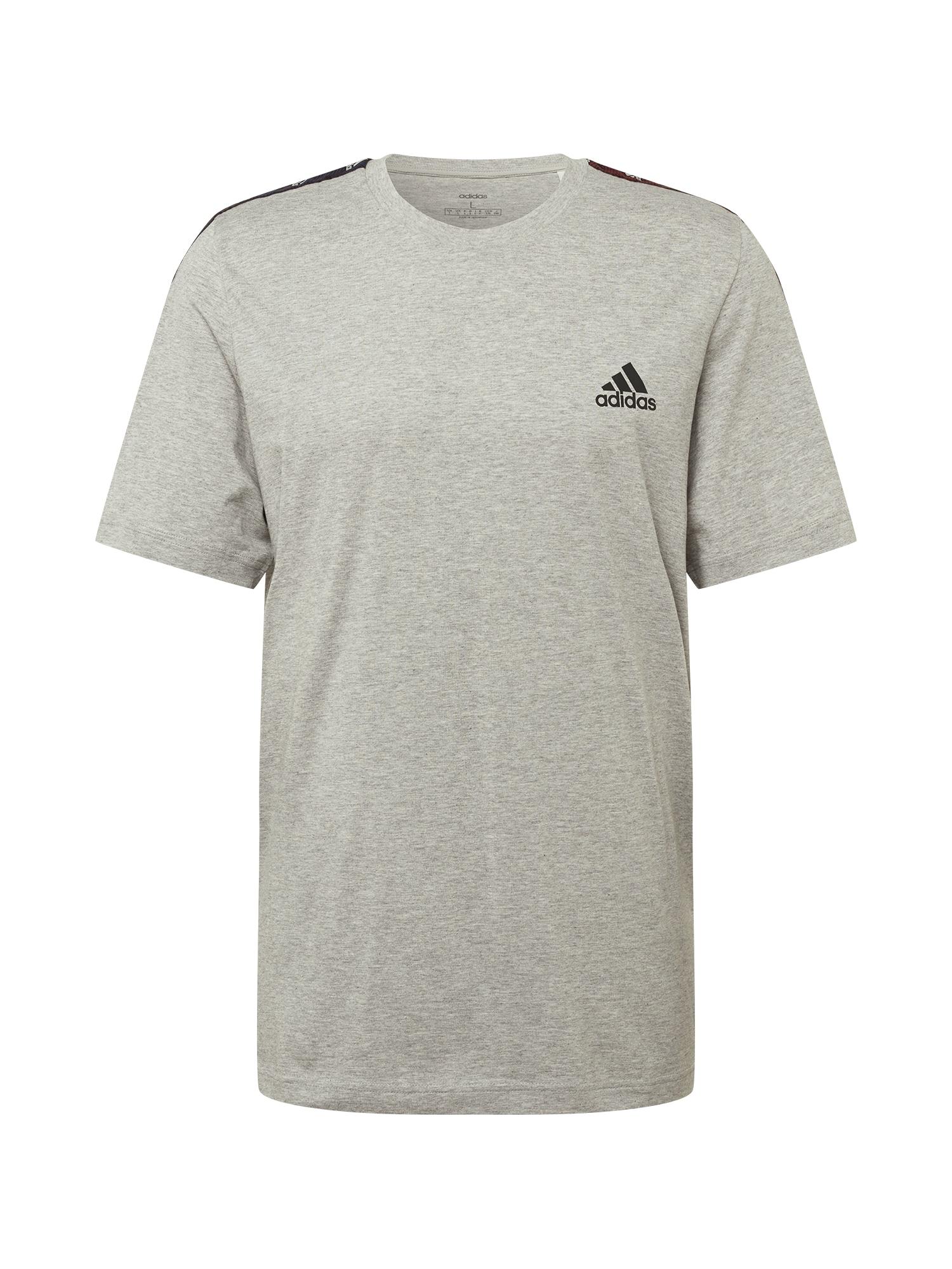 ADIDAS PERFORMANCE Sportiniai marškinėliai margai pilka