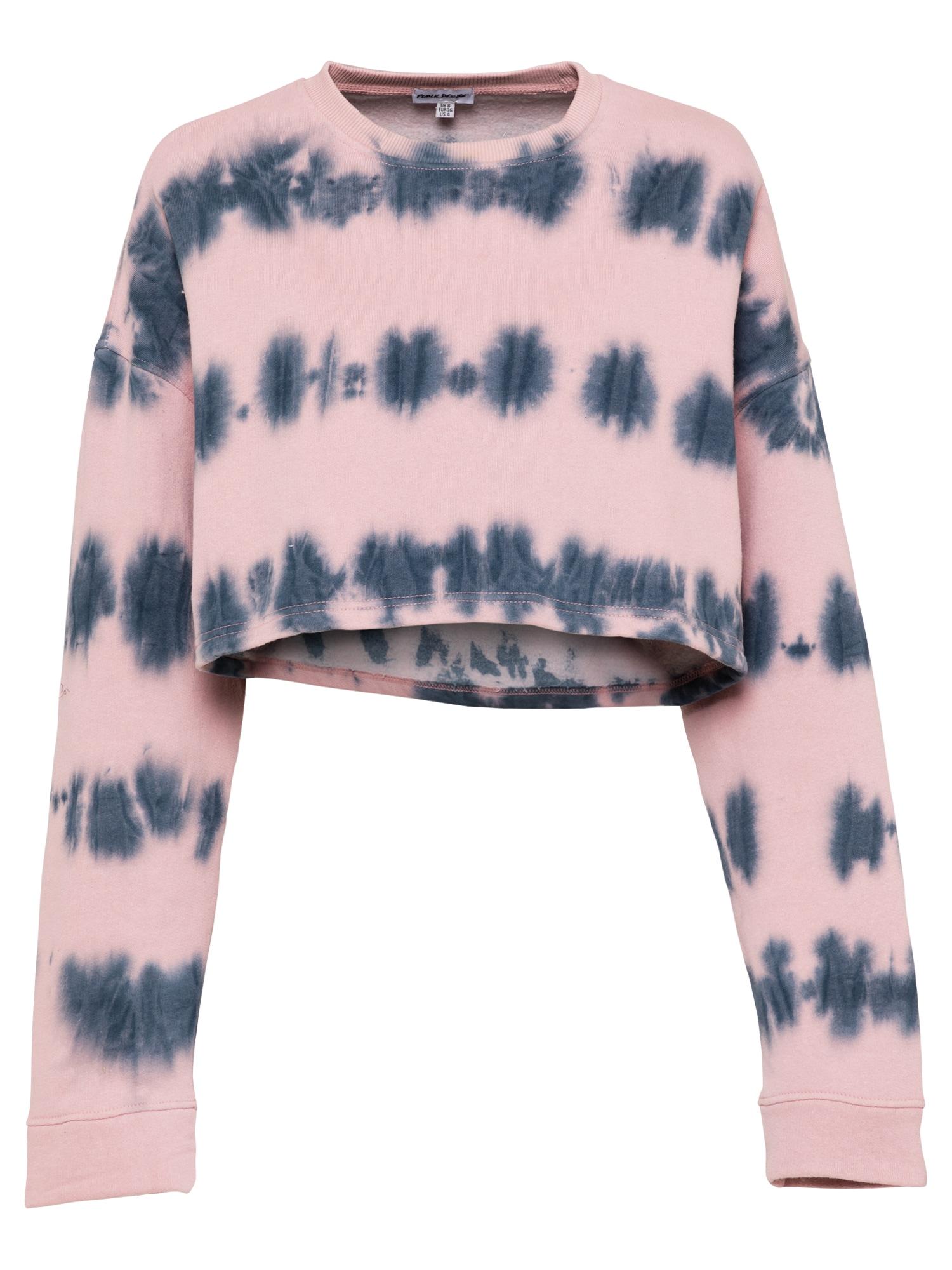 Public Desire Megztinis be užsegimo rožinė / tamsiai mėlyna jūros spalva
