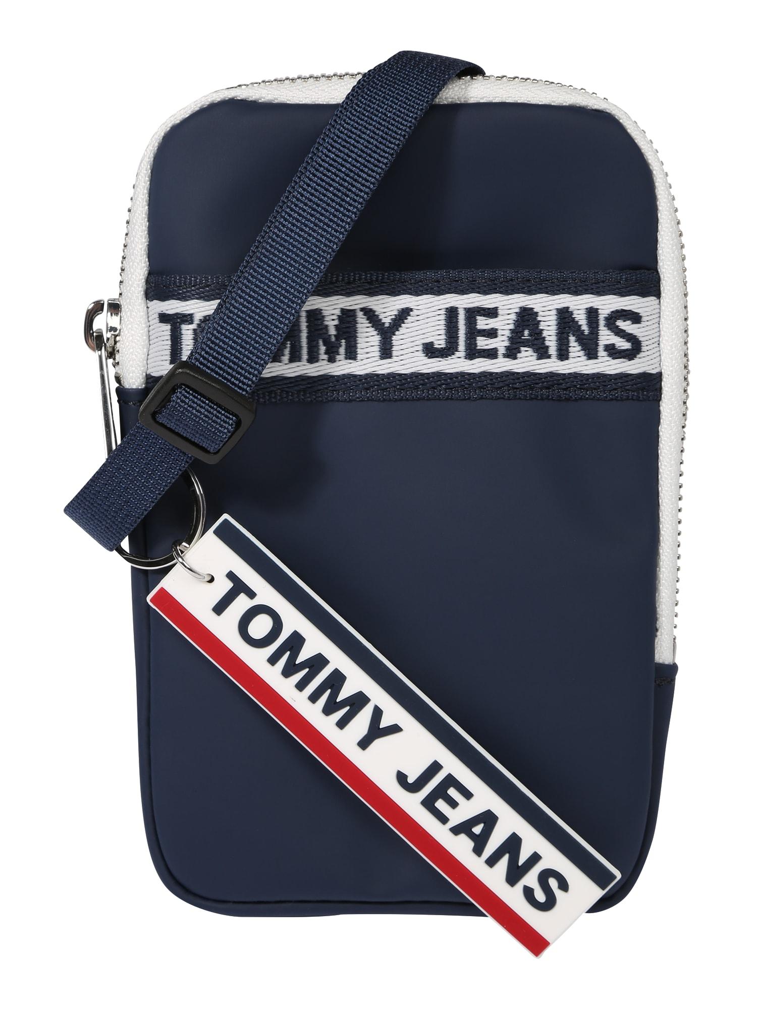 Tommy Jeans Rankinė su ilgu dirželiu tamsiai mėlyna / balta / raudona