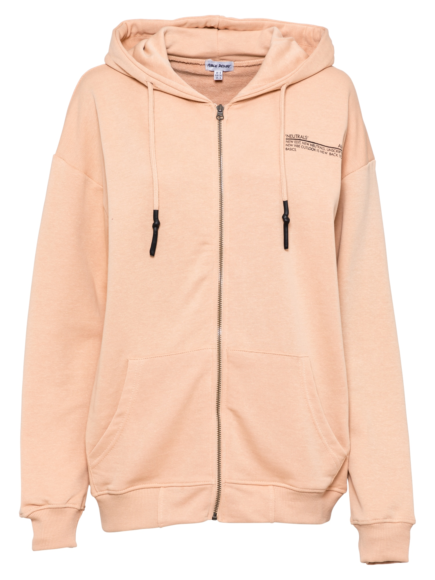 Public Desire Džemperis persikų spalva