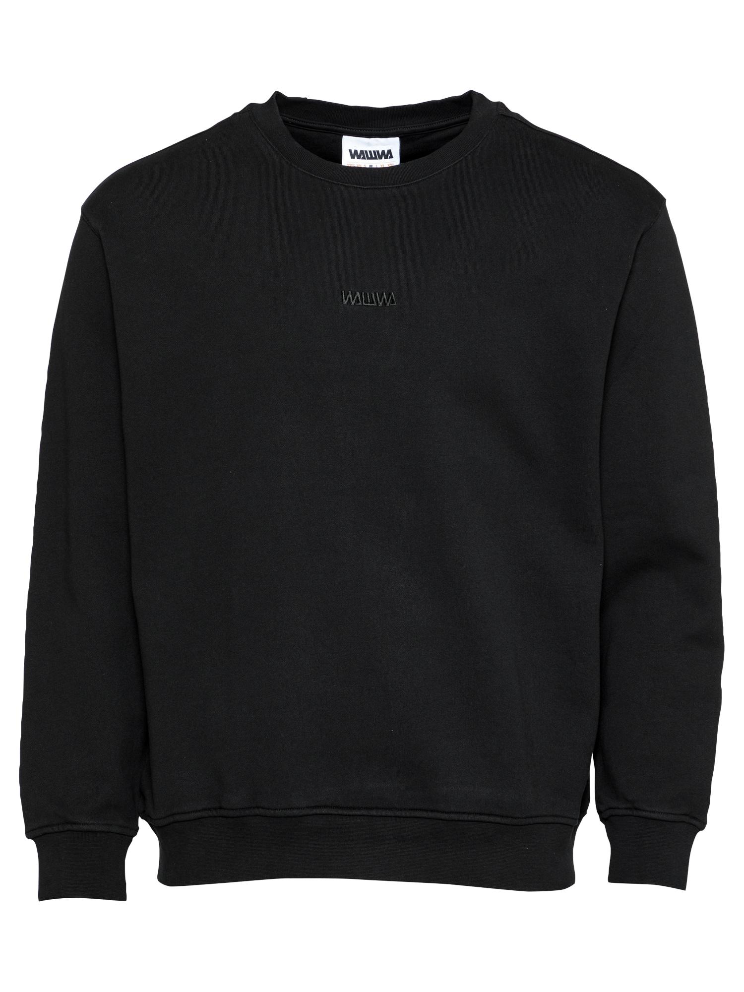 WAWWA Megztinis be užsegimo juoda