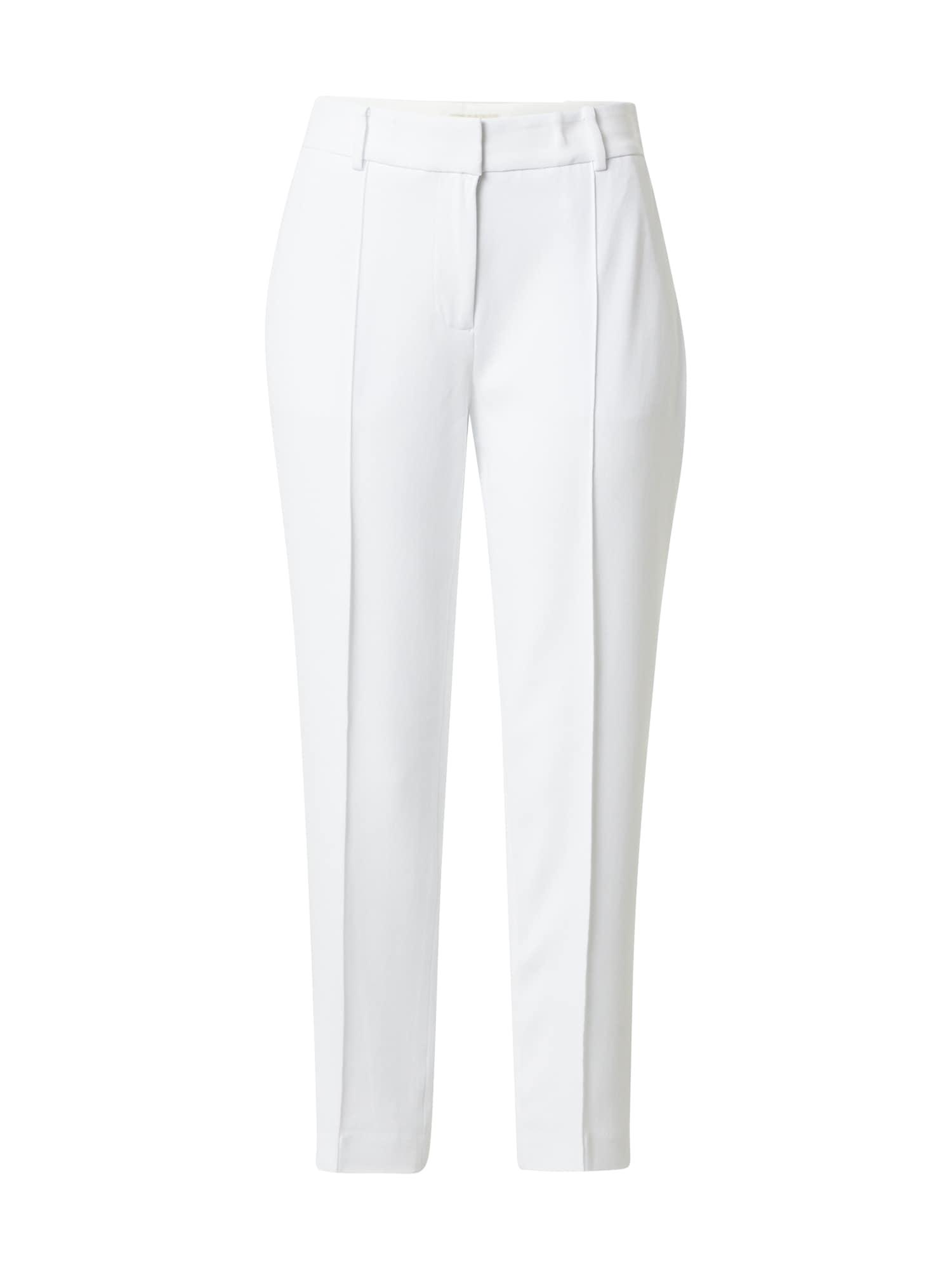 MICHAEL Michael Kors Kelnės su kantu balta