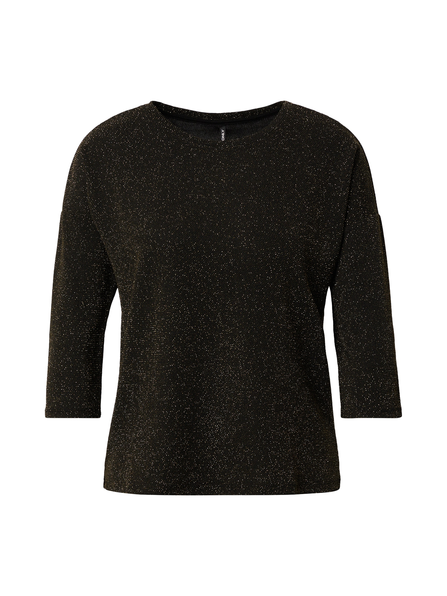 ONLY Tričko 'New Queen'  zlatá / černá