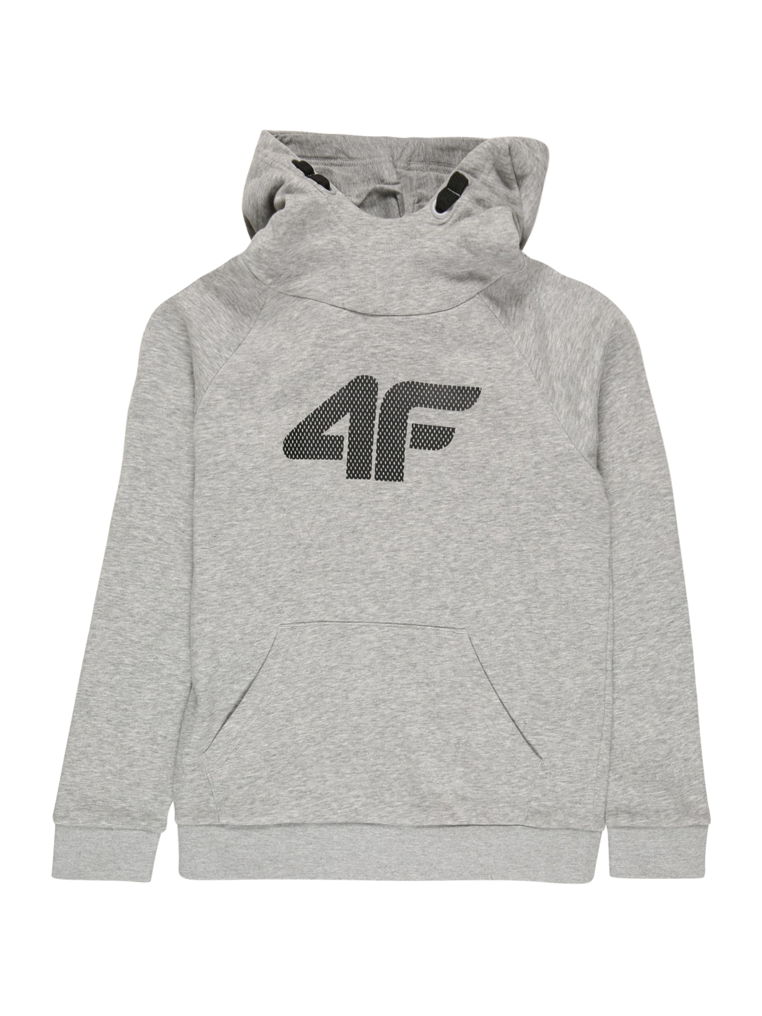 4F Sportinio tipo megztinis šviesiai pilka / antracito