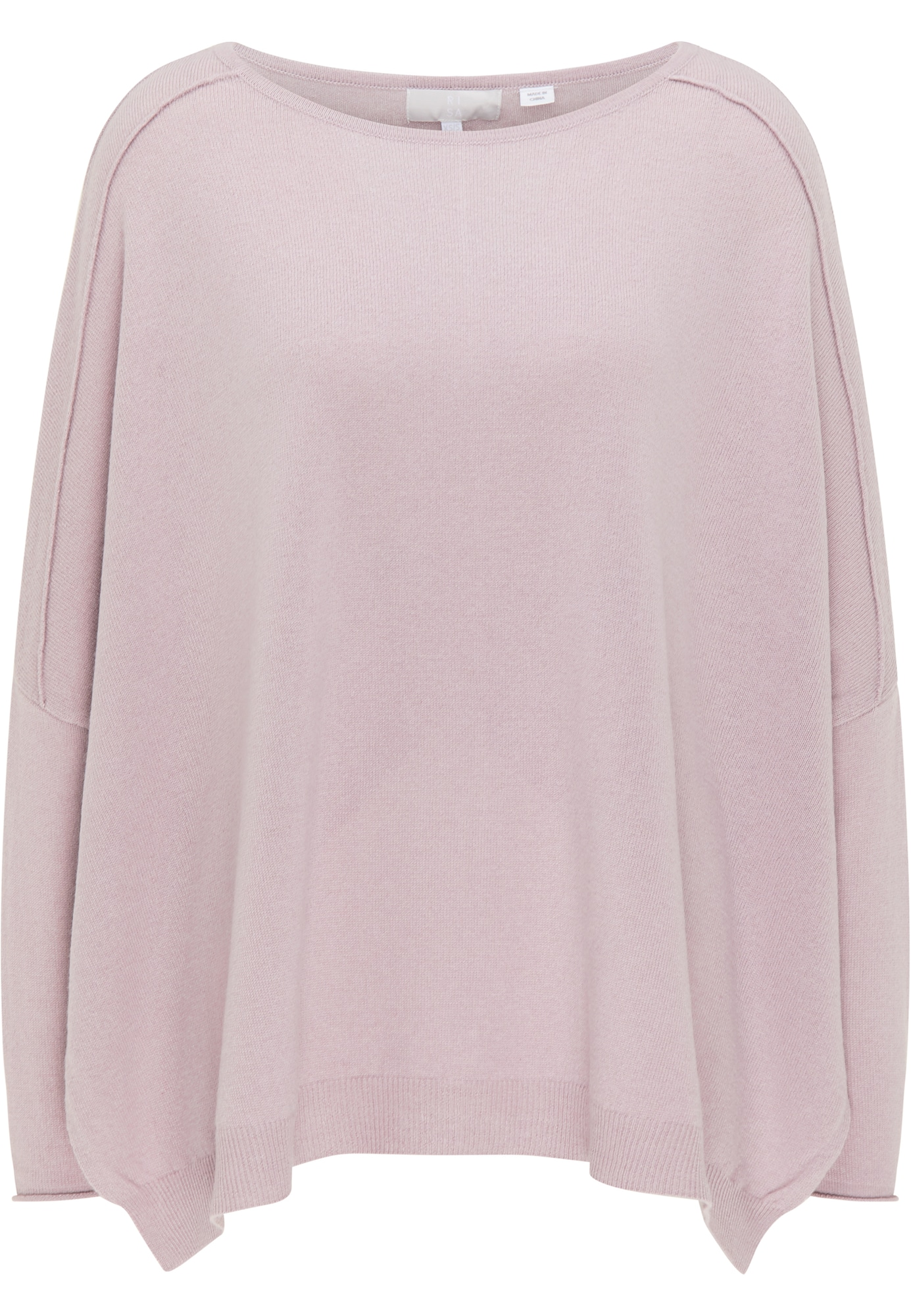 RISA Megztinis ryškiai rožinė spalva